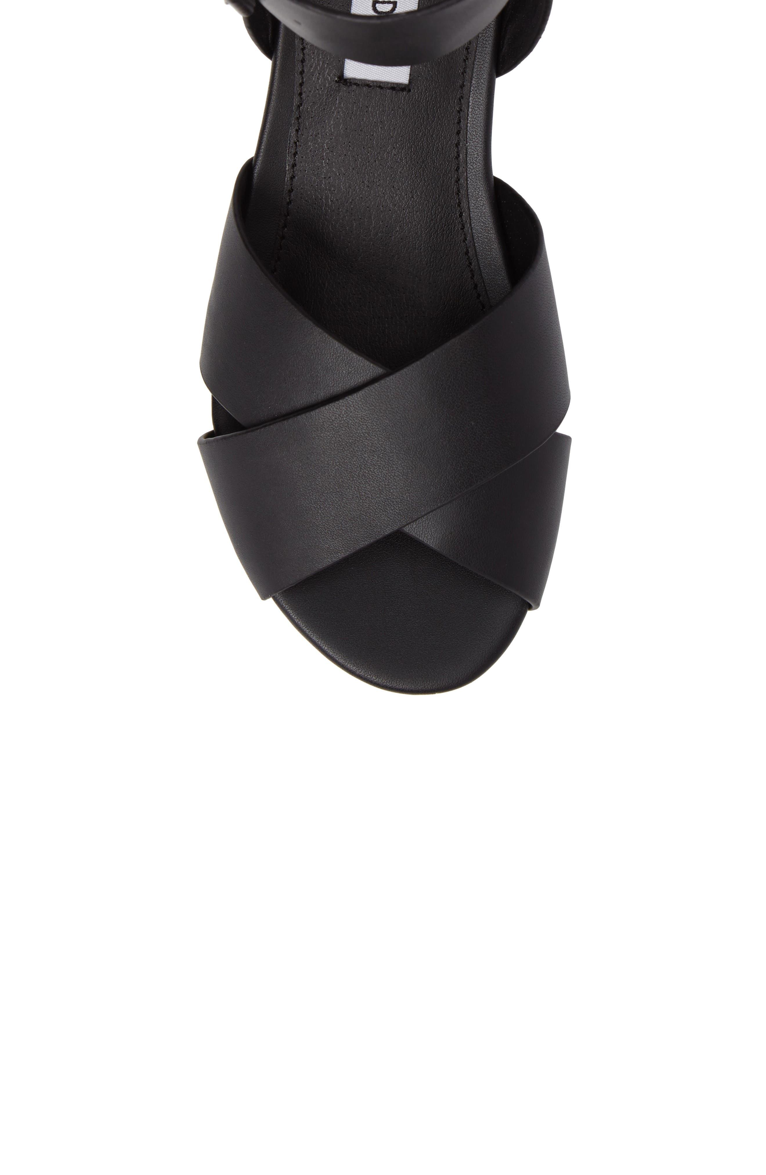 Alternate Image 5  - Steve Madden Macer Cuffed Platform Sandal (Women)
