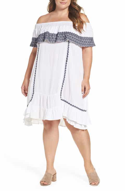 Muche et Muchette Gavin Ruffle Cover-Up Dress (Plus Size)