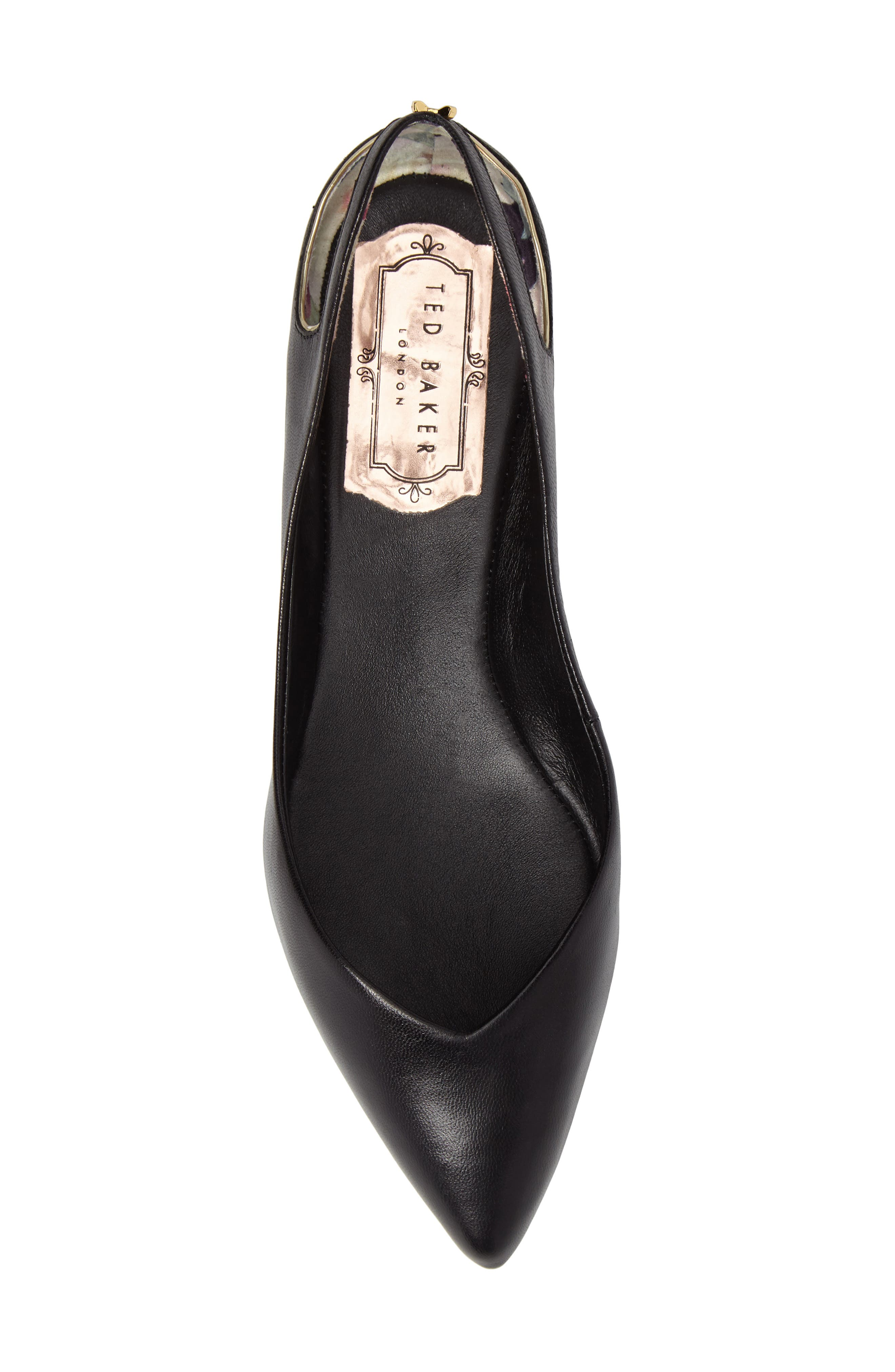 Alternate Image 5  - Ted Baker London Dabih Pointy Toe Flat (Women)