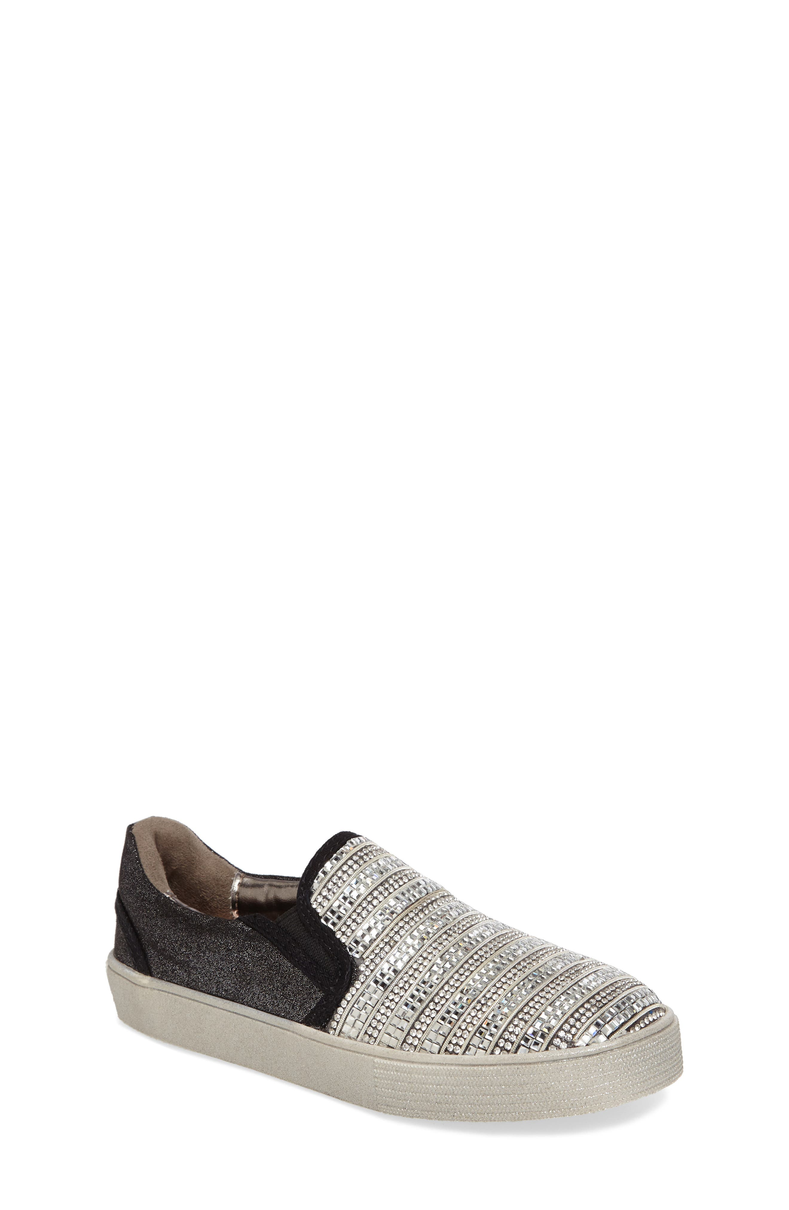 Stuart Weitzman Vance Glitz Slip-On Sneaker (Walker, Toddler, Little Kid & Big Kid)