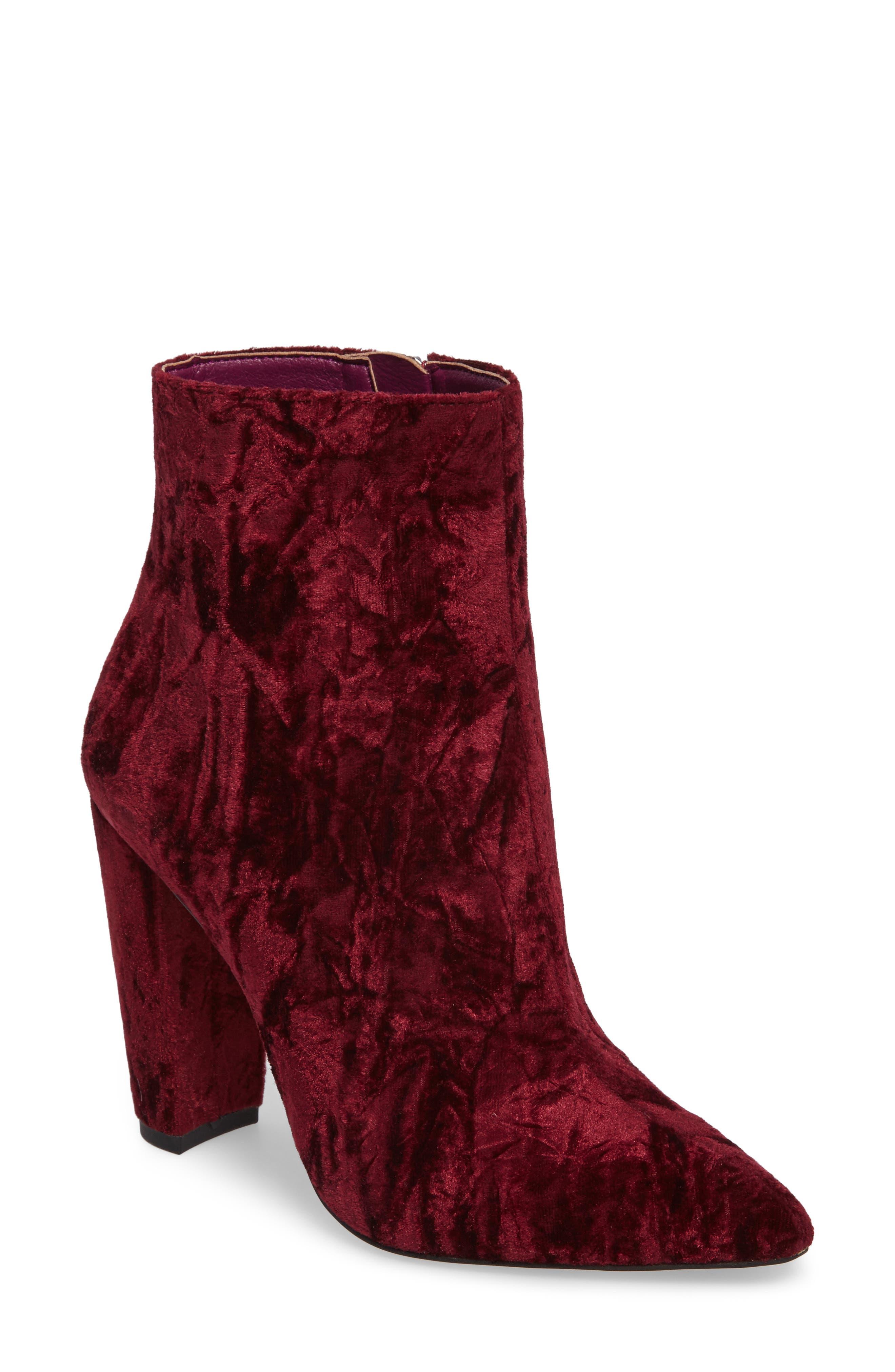 Jessica Simpson Teddi Crescent-Heel Bootie (Women)