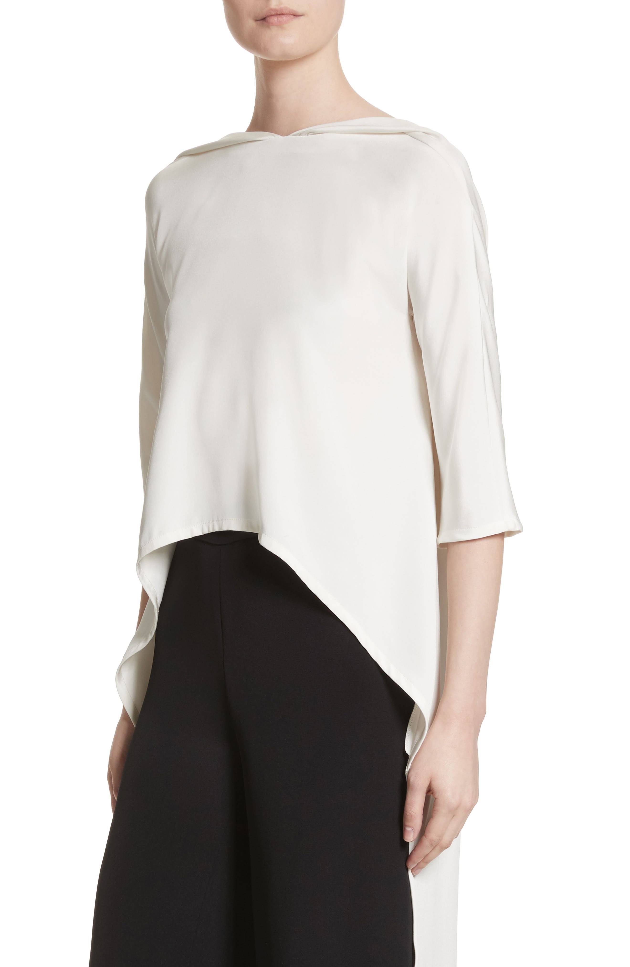 Alternate Image 6  - Carolina Herrera Cape Top