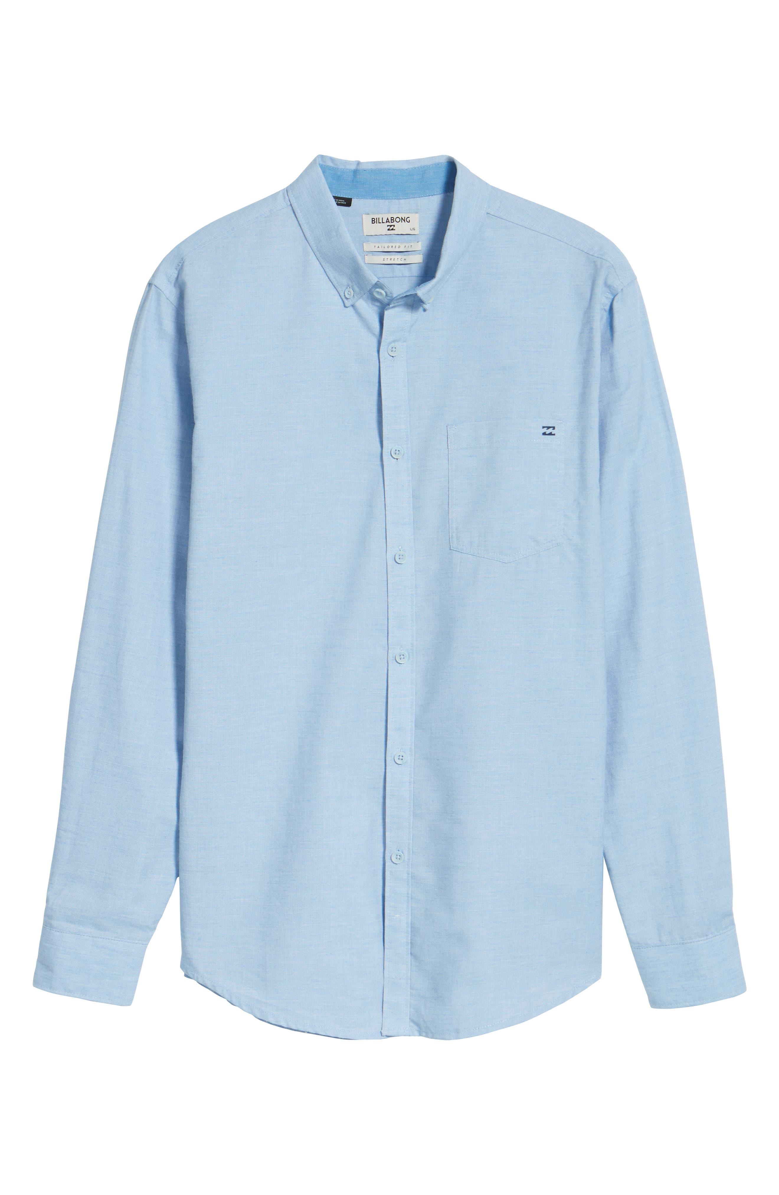 Alternate Image 6  - Billabong All Day Chambray Shirt