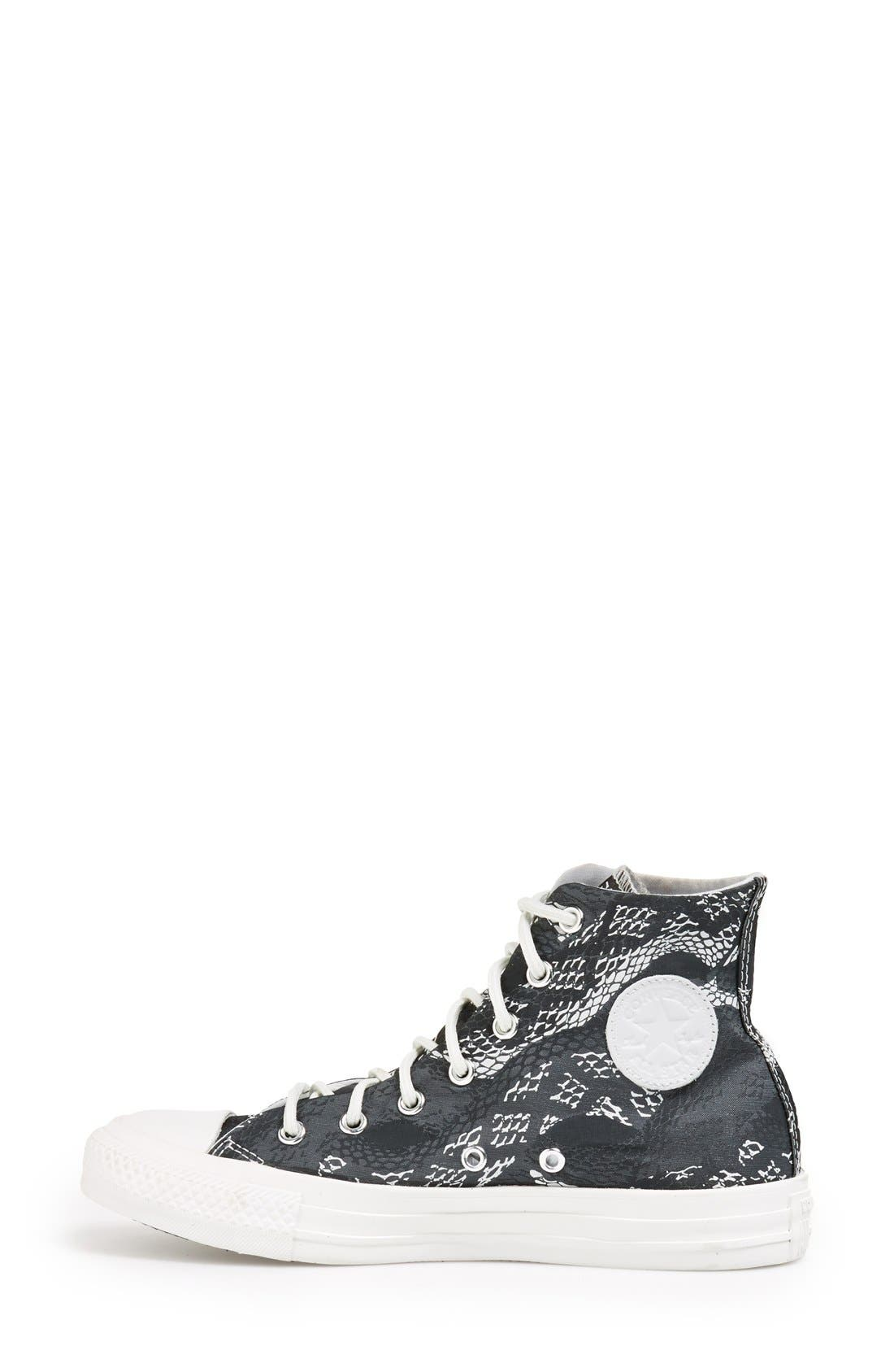 Alternate Image 6  - Converse Chuck Taylor® 'Reptile Print' High Top Sneaker (Women)