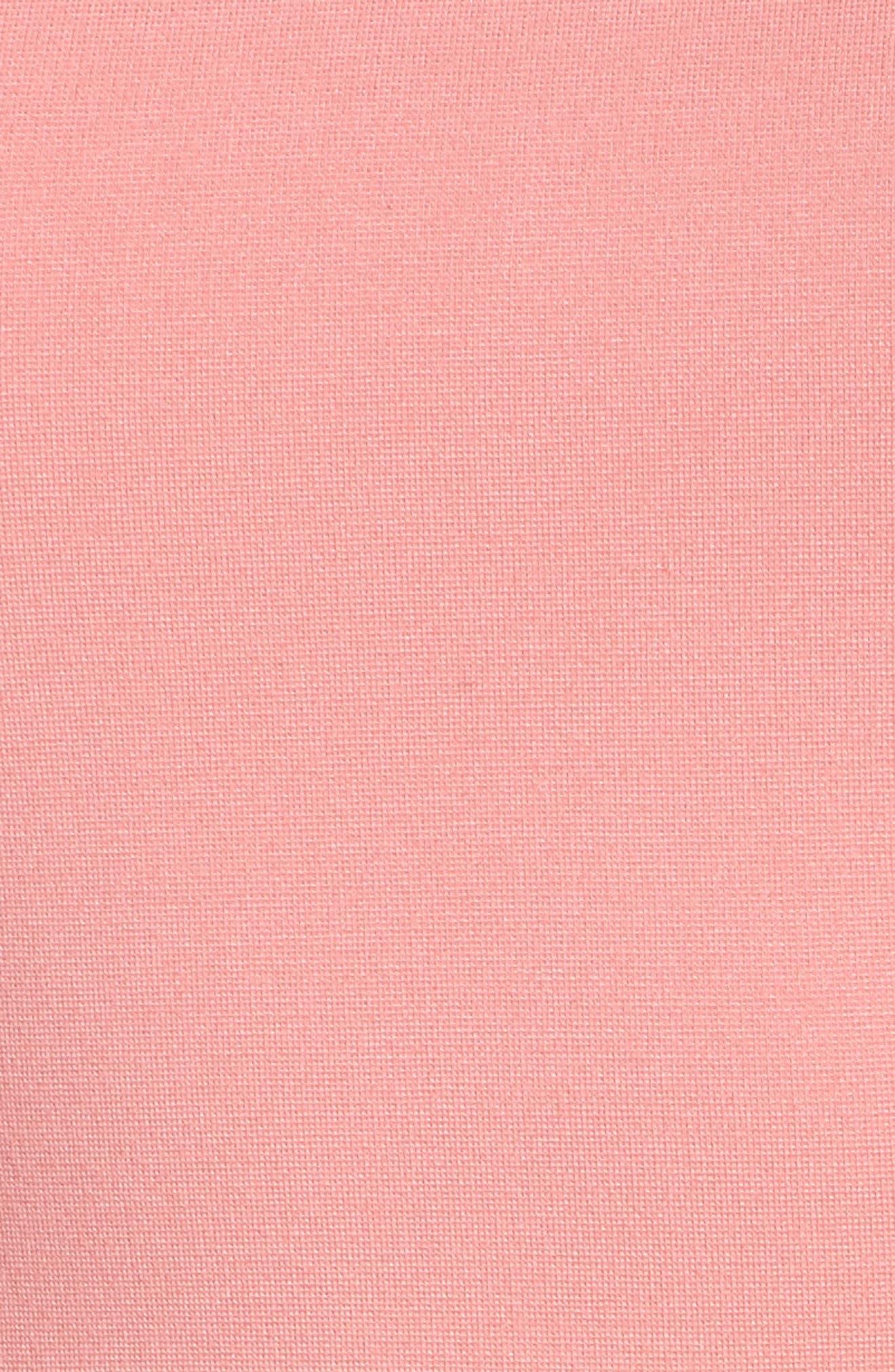 Lula Sheath Dress,                             Alternate thumbnail 5, color,                             Pink