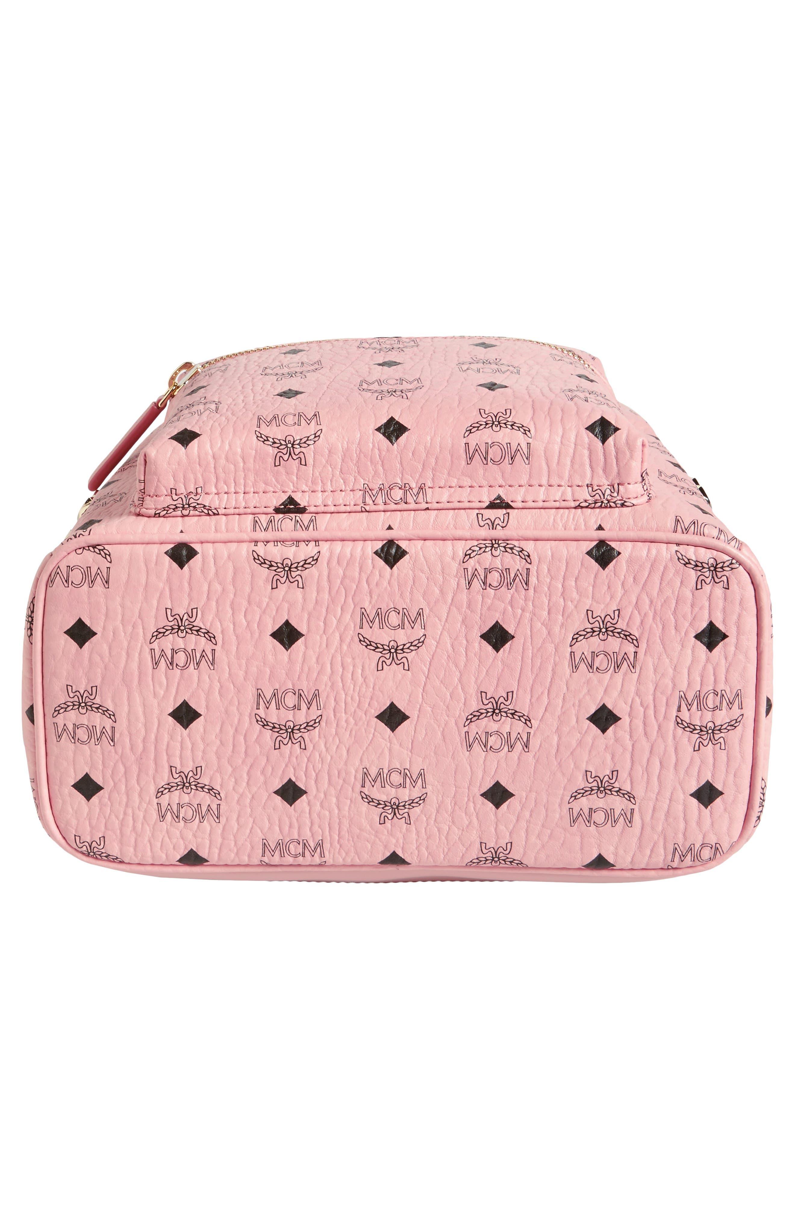 Alternate Image 6  - MCM Small Stark Side Stud Coated Canvas Backpack