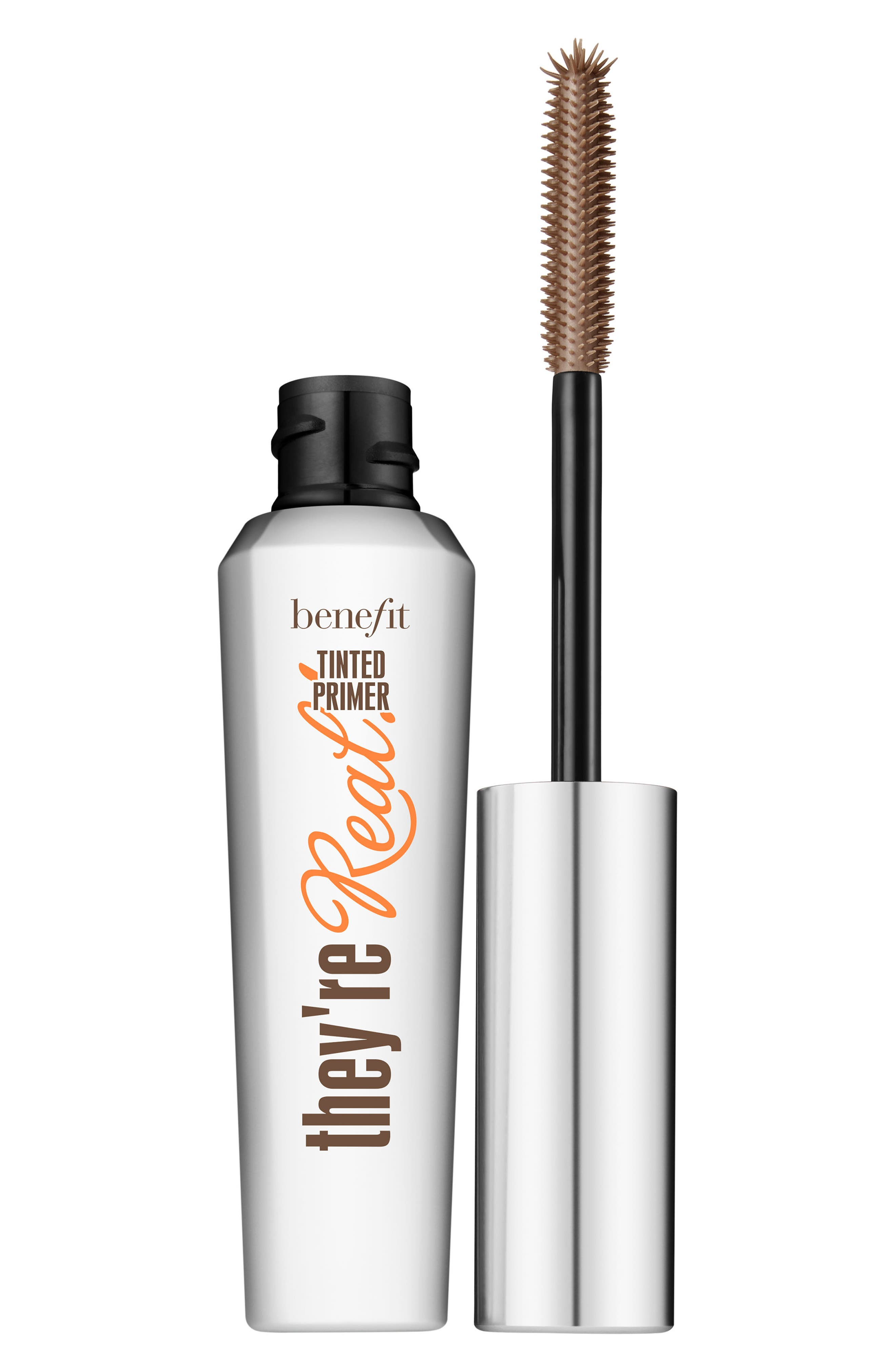 Benefit They're Real! Tinted Lash Primer,                             Main thumbnail 1, color,                             Mink Brown