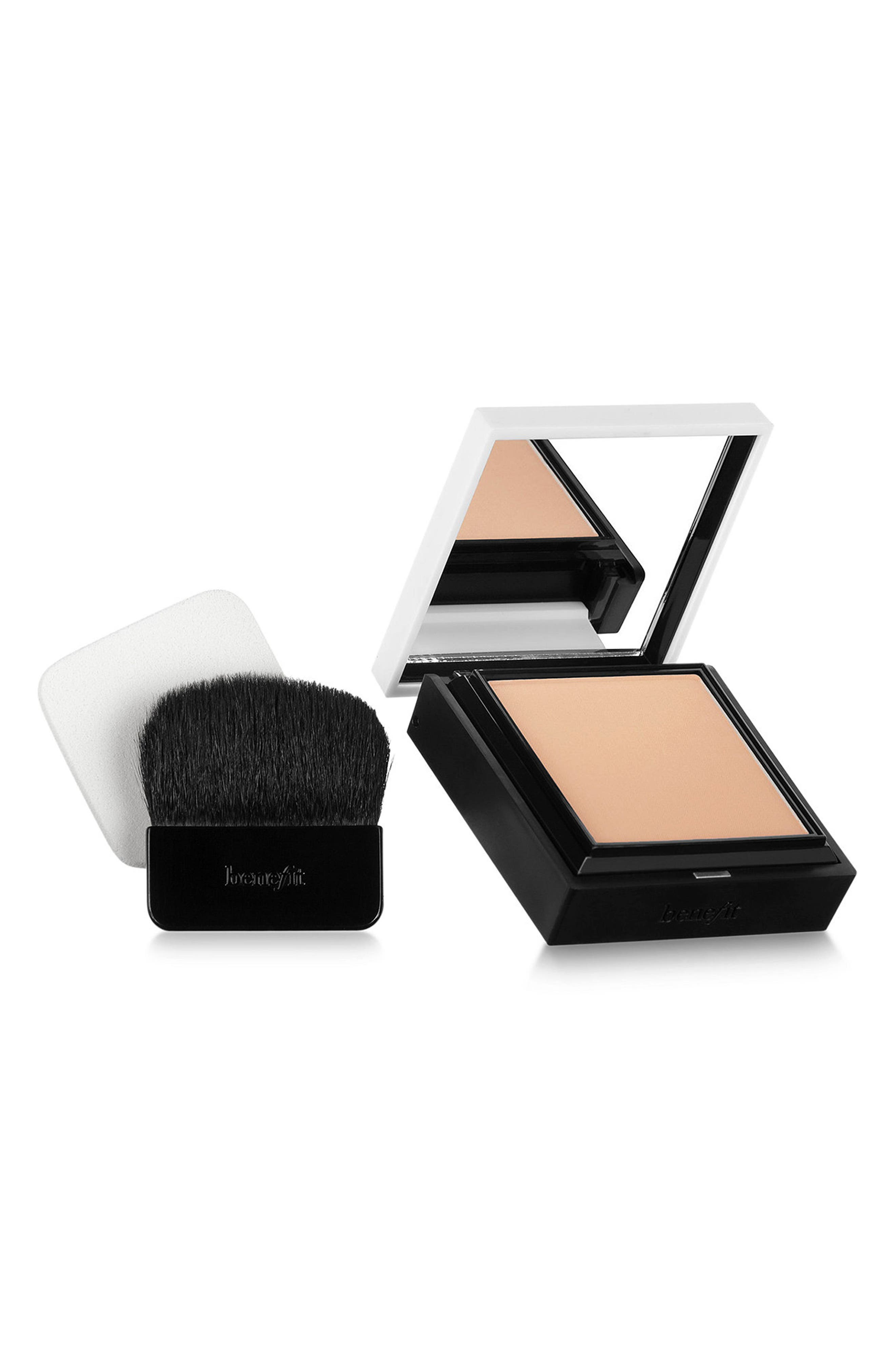 Benefit Hello Flawless! Powder Foundation,                             Main thumbnail 1, color,                             03 Me Vain/ Champagne