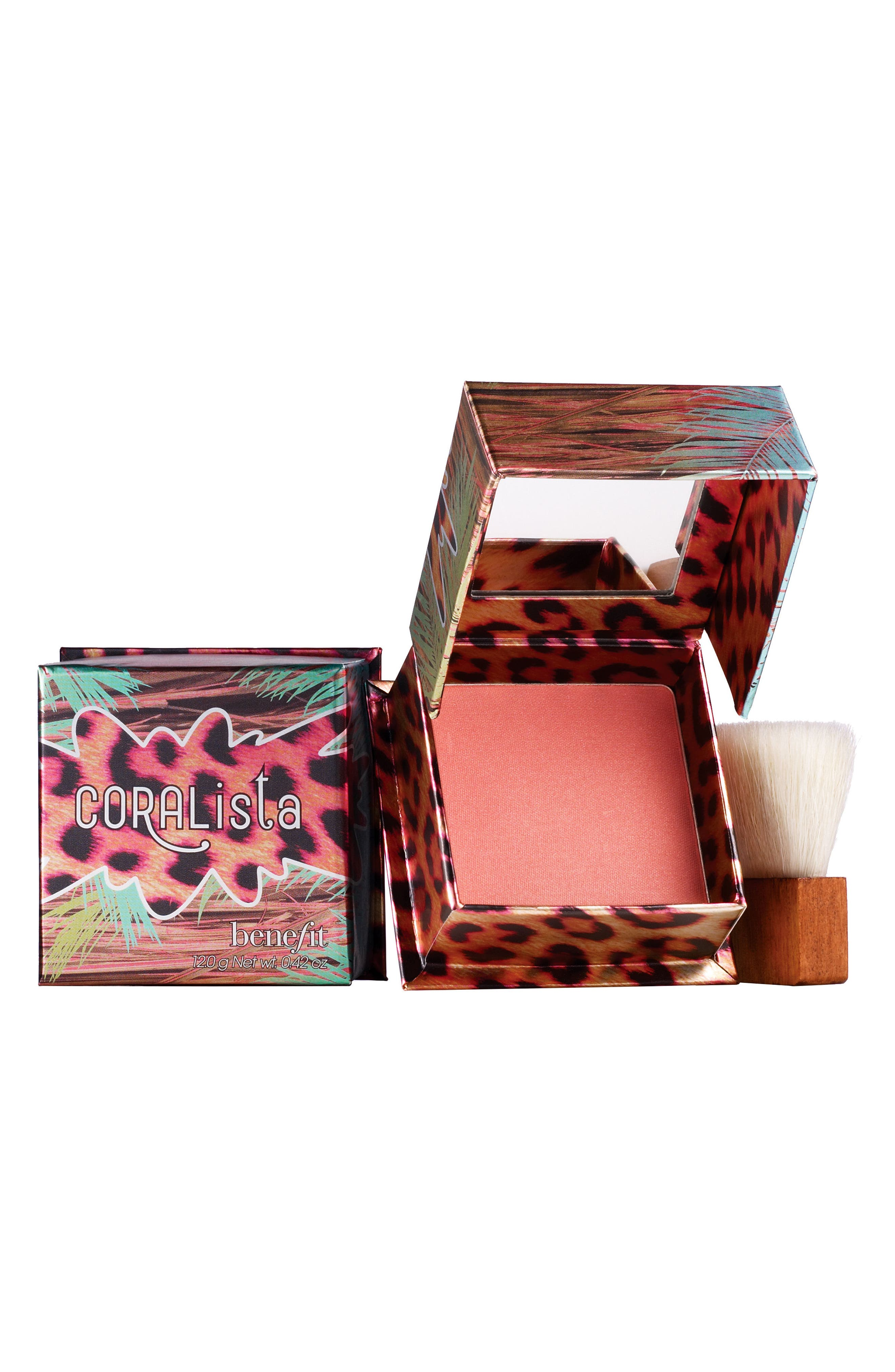 Benefit CORALista Coral Powder Blush,                         Main,                         color, Coral