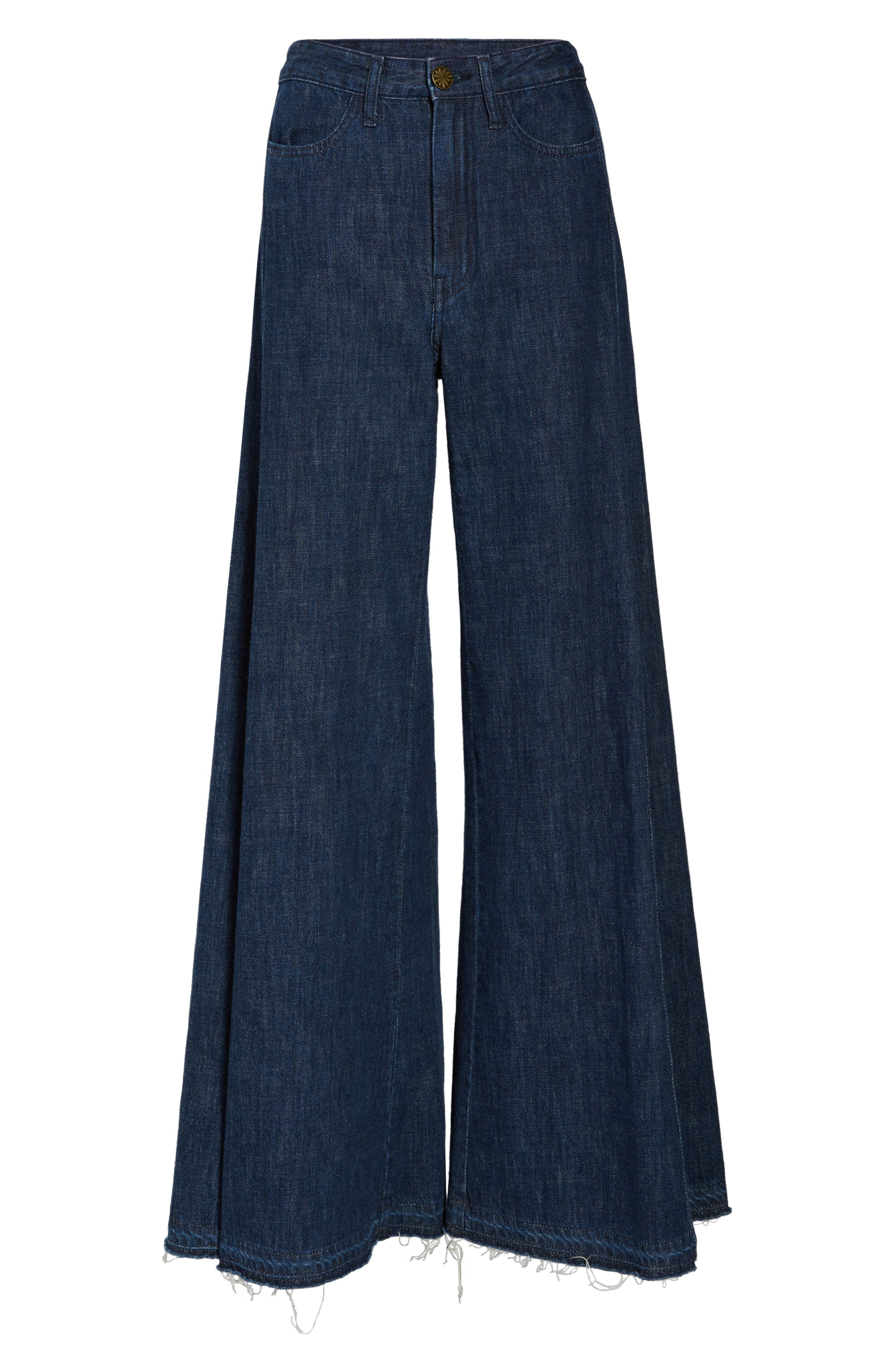 Alternate Image 6  - Show Me Your Mumu San Fran Super Flare Denim Pants