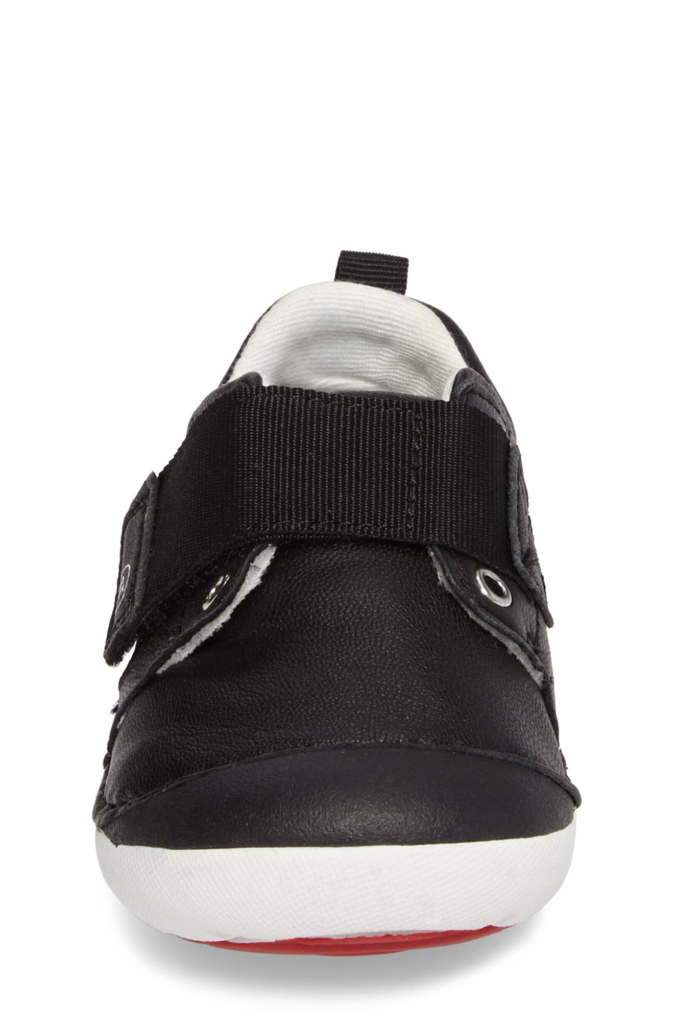 Soft Motion<sup>™</sup> Cameron Sneaker,                             Alternate thumbnail 4, color,                             Black