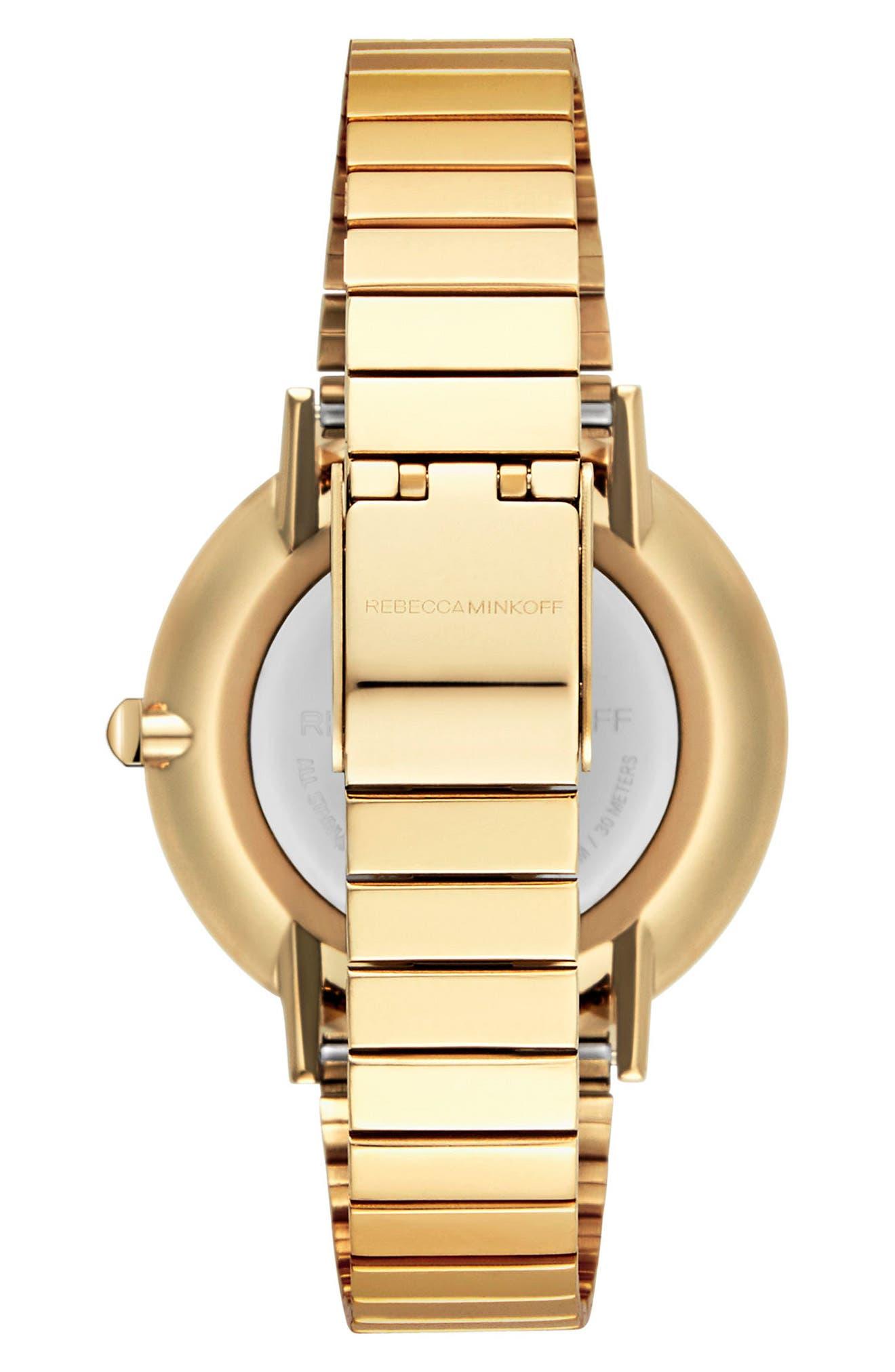 Alternate Image 2  - Rebecca Minkoff Major Bracelet Watch, 35mm