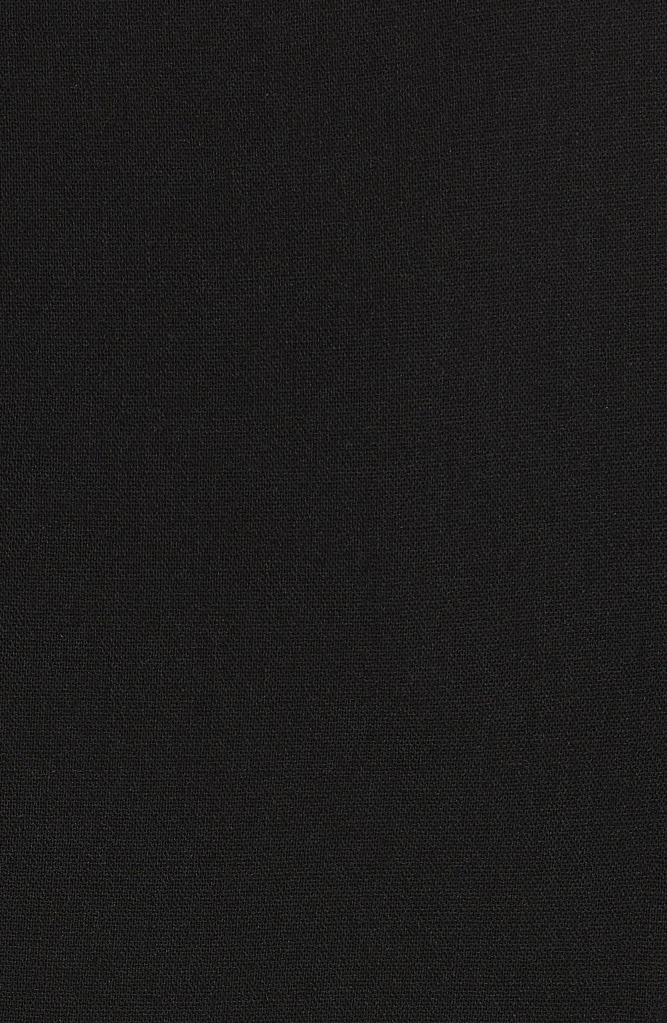 Alternate Image 5  - Michael Kors Draped Chiffon Sleeve Dress