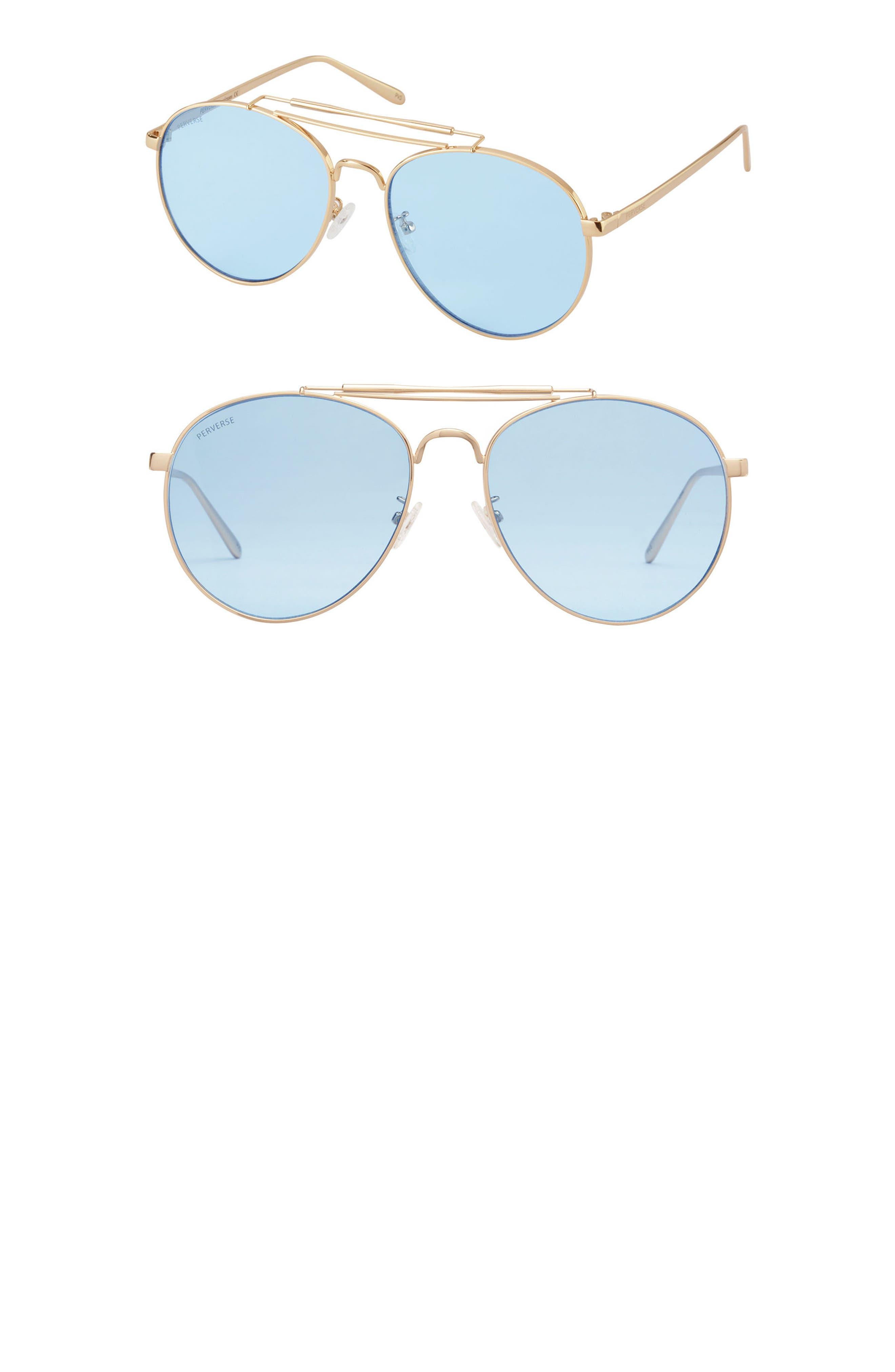 PERVERSE Crisp Aviator Sunglasses