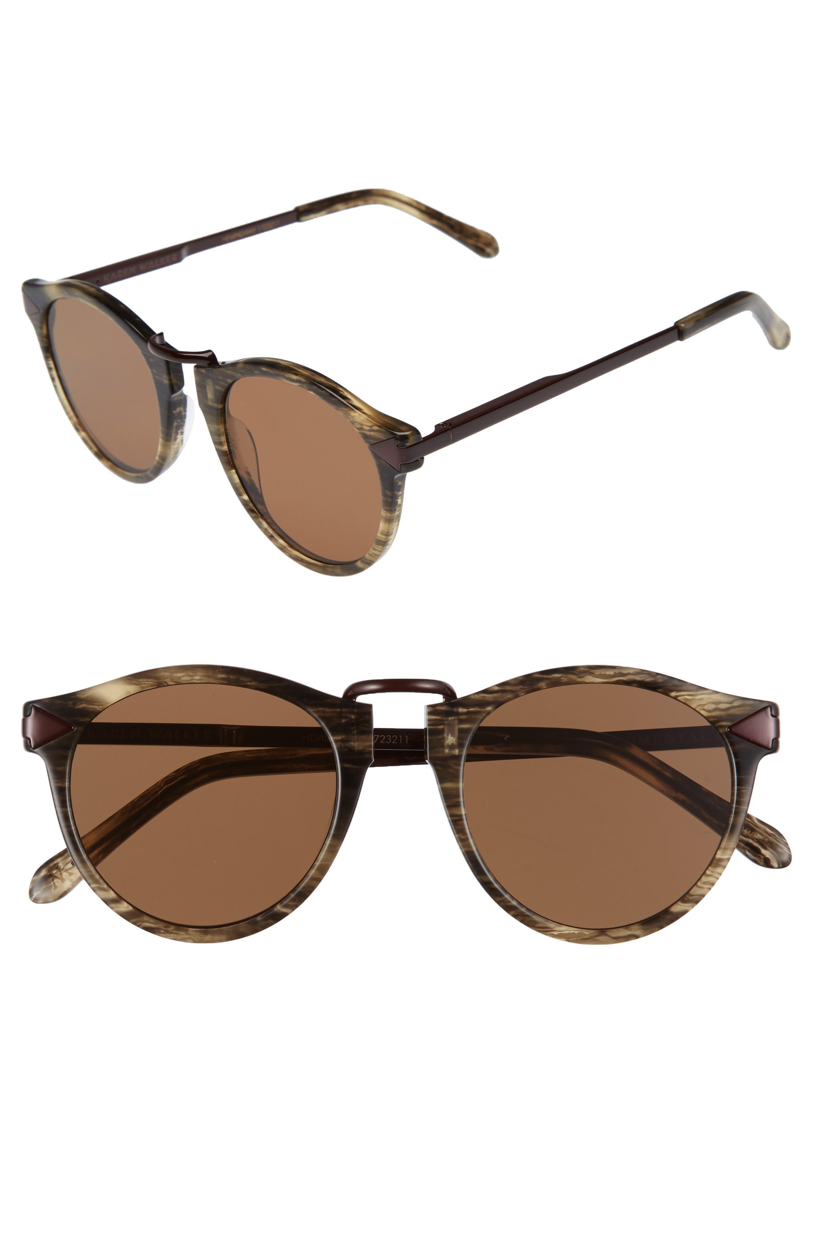 Karen Walker x Monumental 49mm Polarized Sunglasses