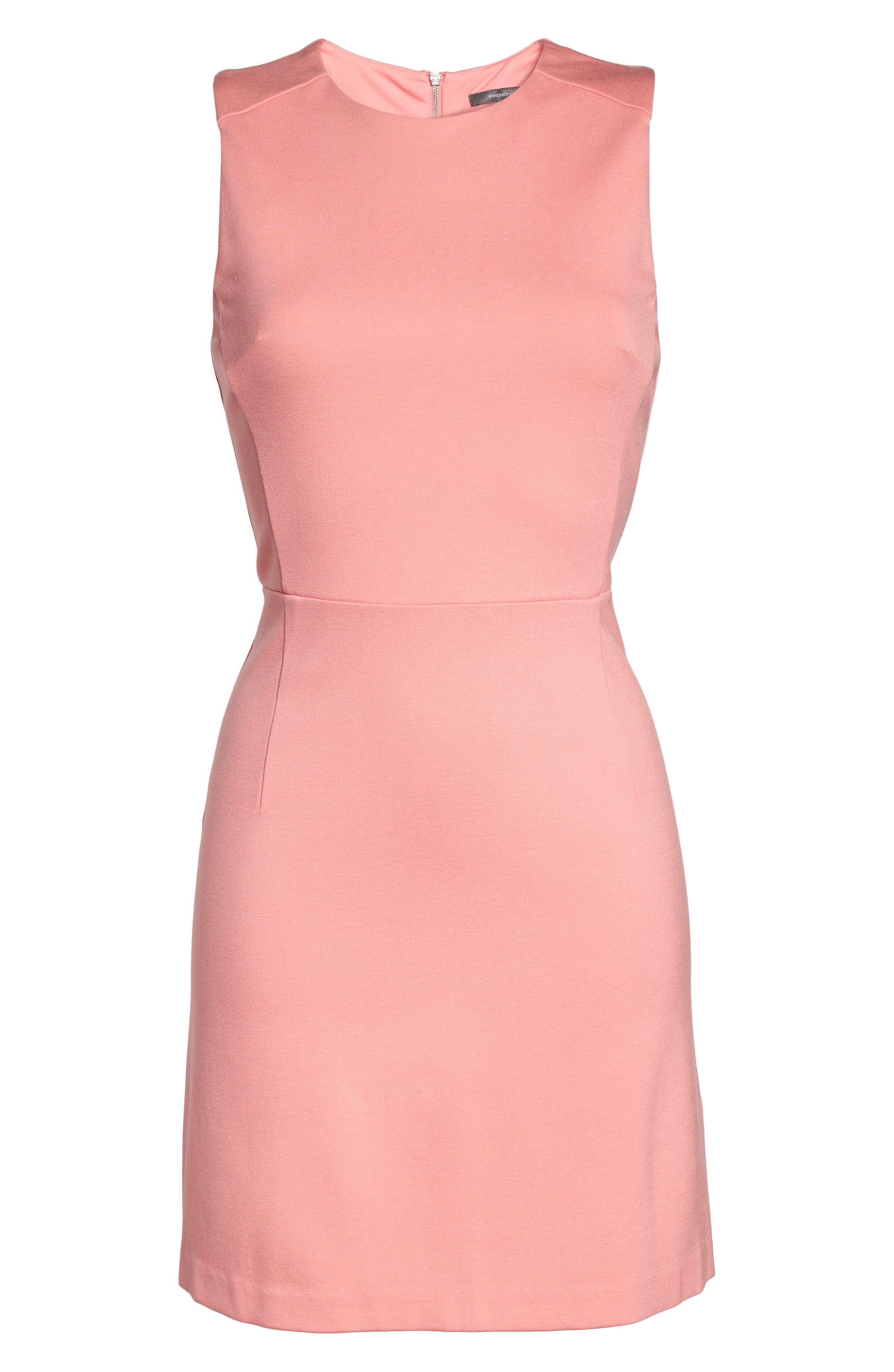 Lula Sheath Dress,                             Alternate thumbnail 6, color,                             Pink