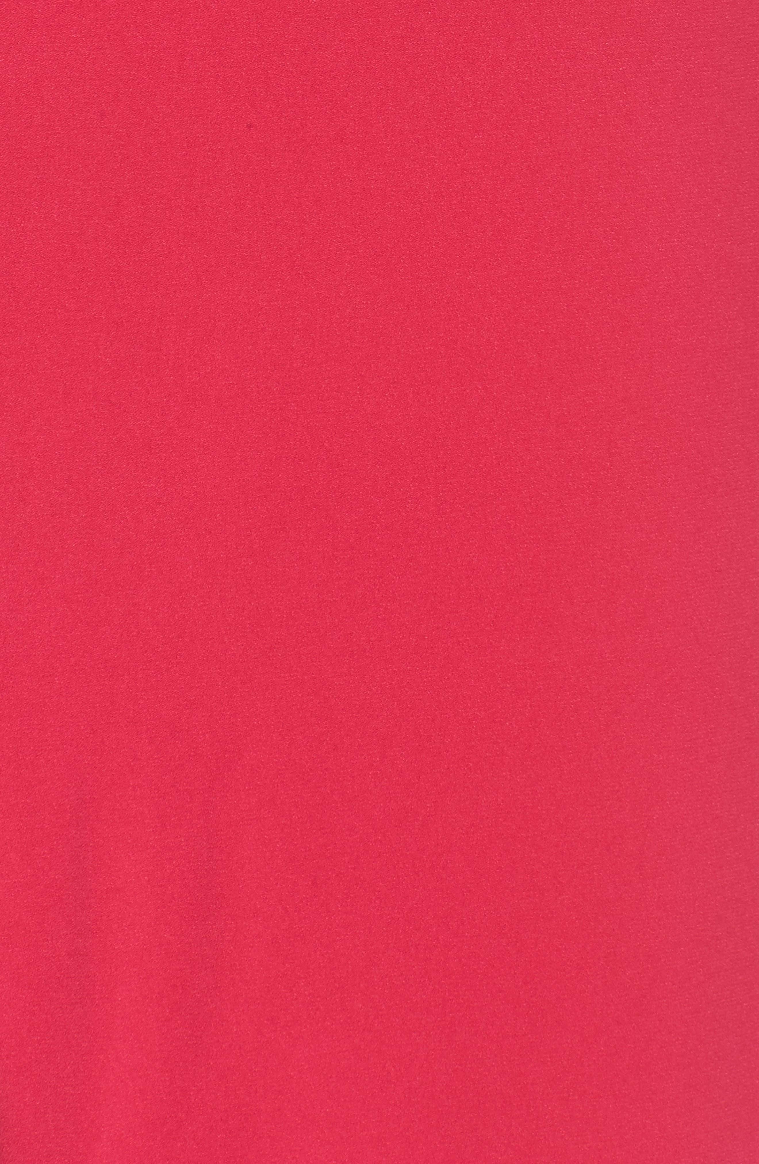 Alternate Image 5  - Halston Heritage Asymmetrical Cutout Crepe Gown