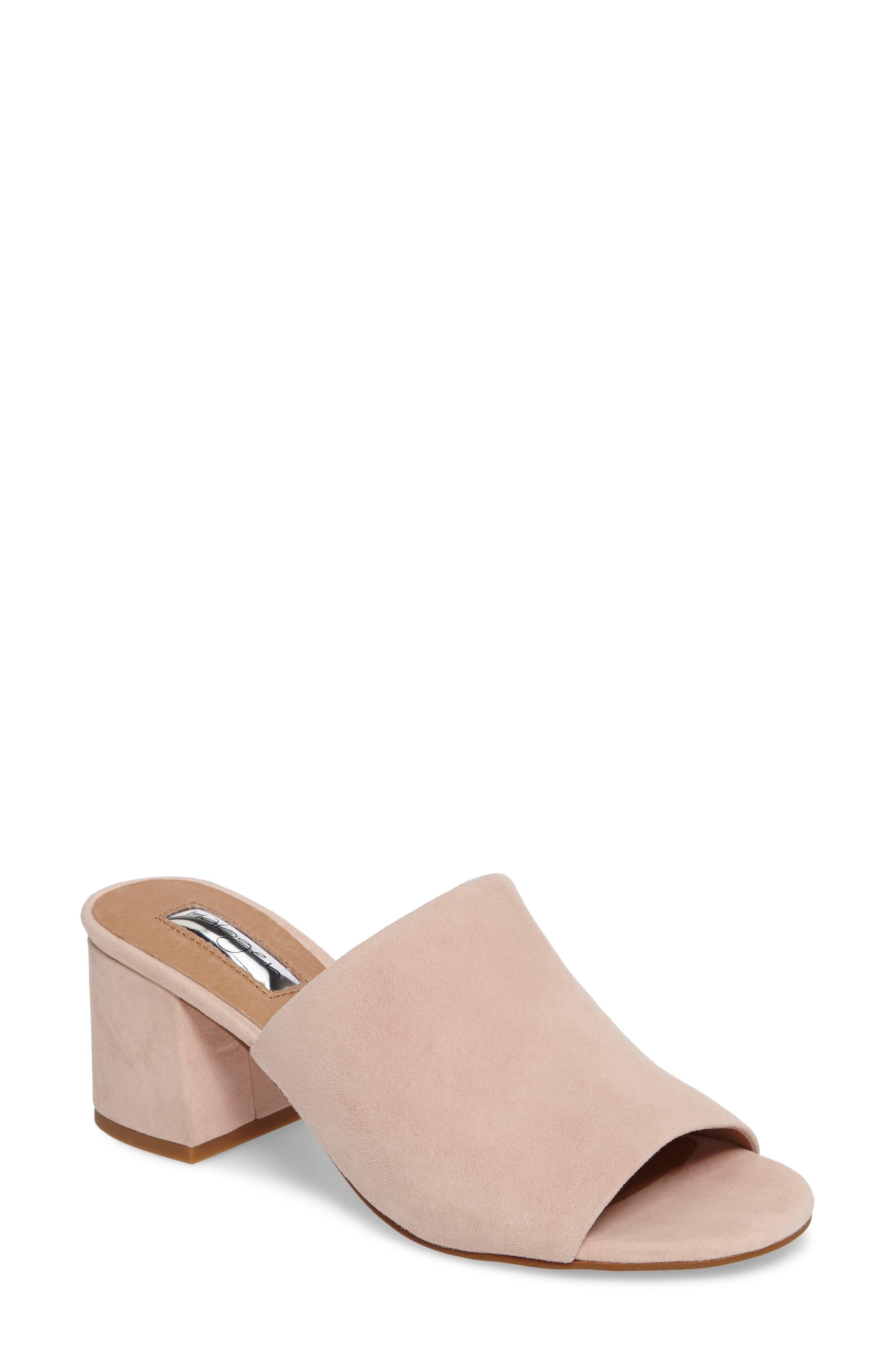 Halogen® Freda Slide Sandal (Women)