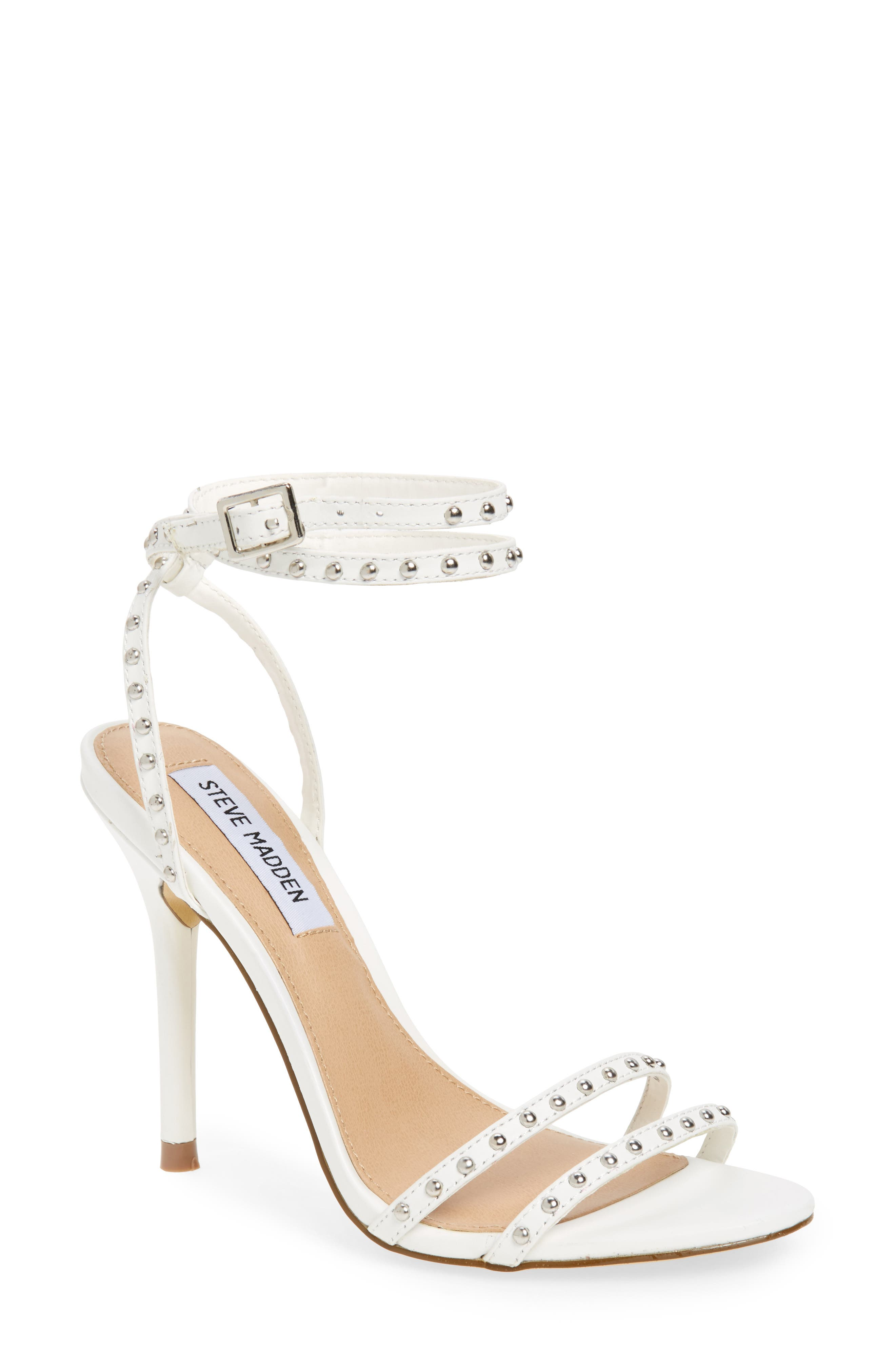 Steve Madden Wish Studded Strappy Sandal (Women)