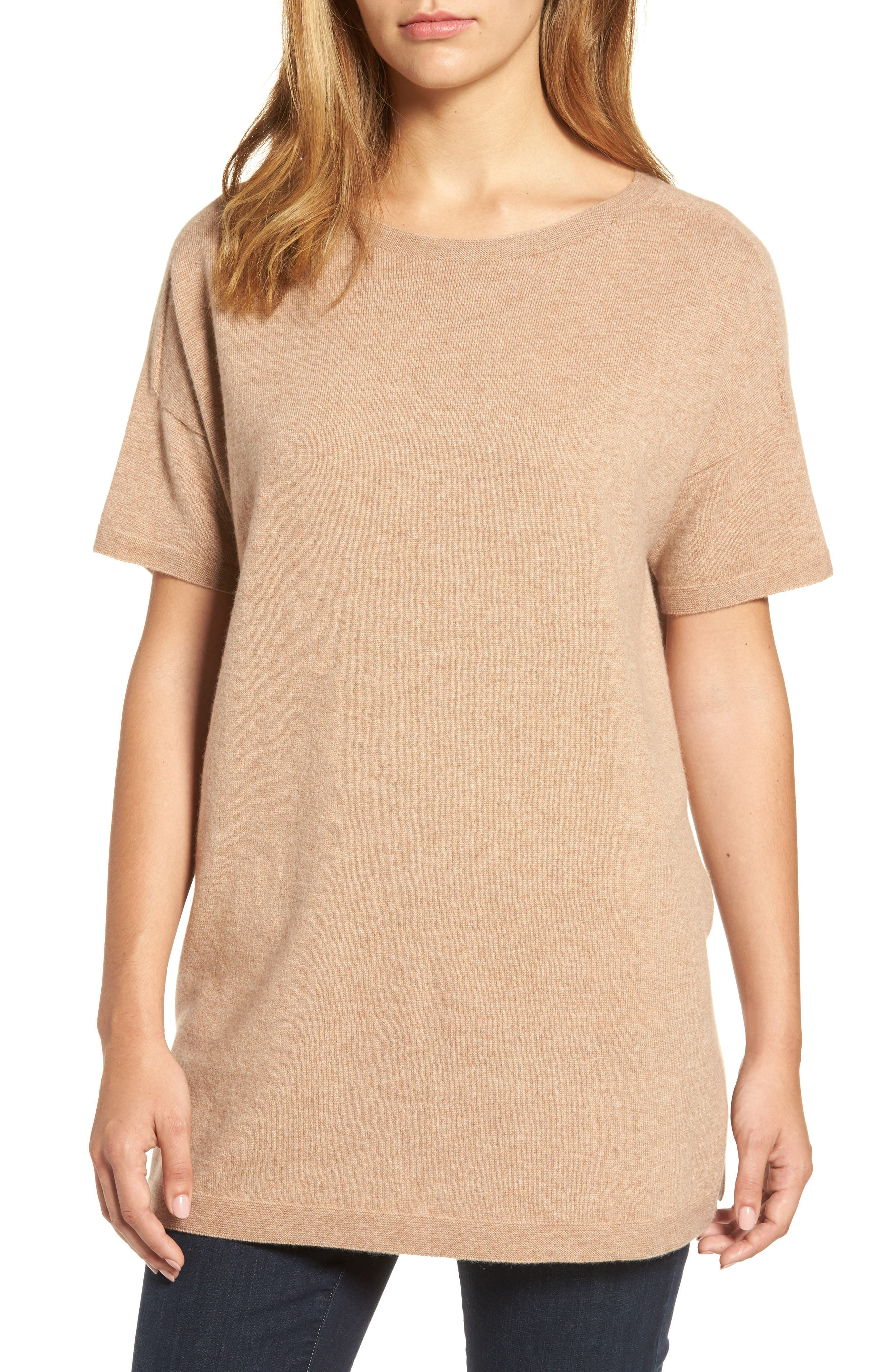 Main Image - Eileen Fisher Cashmere Tunic Sweater
