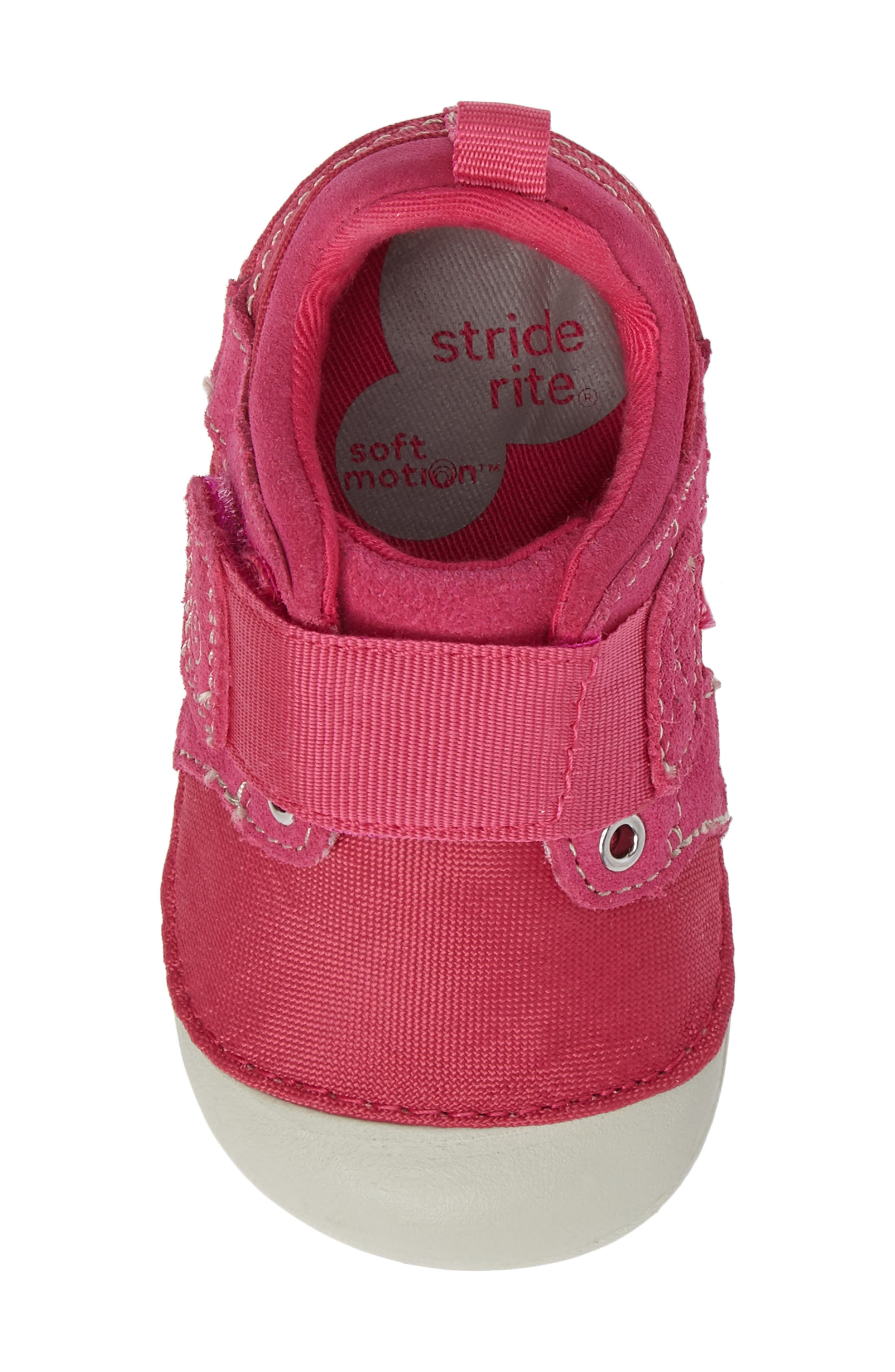 Soft Motion<sup>™</sup> Cameron Sneaker,                             Alternate thumbnail 5, color,                             Pink