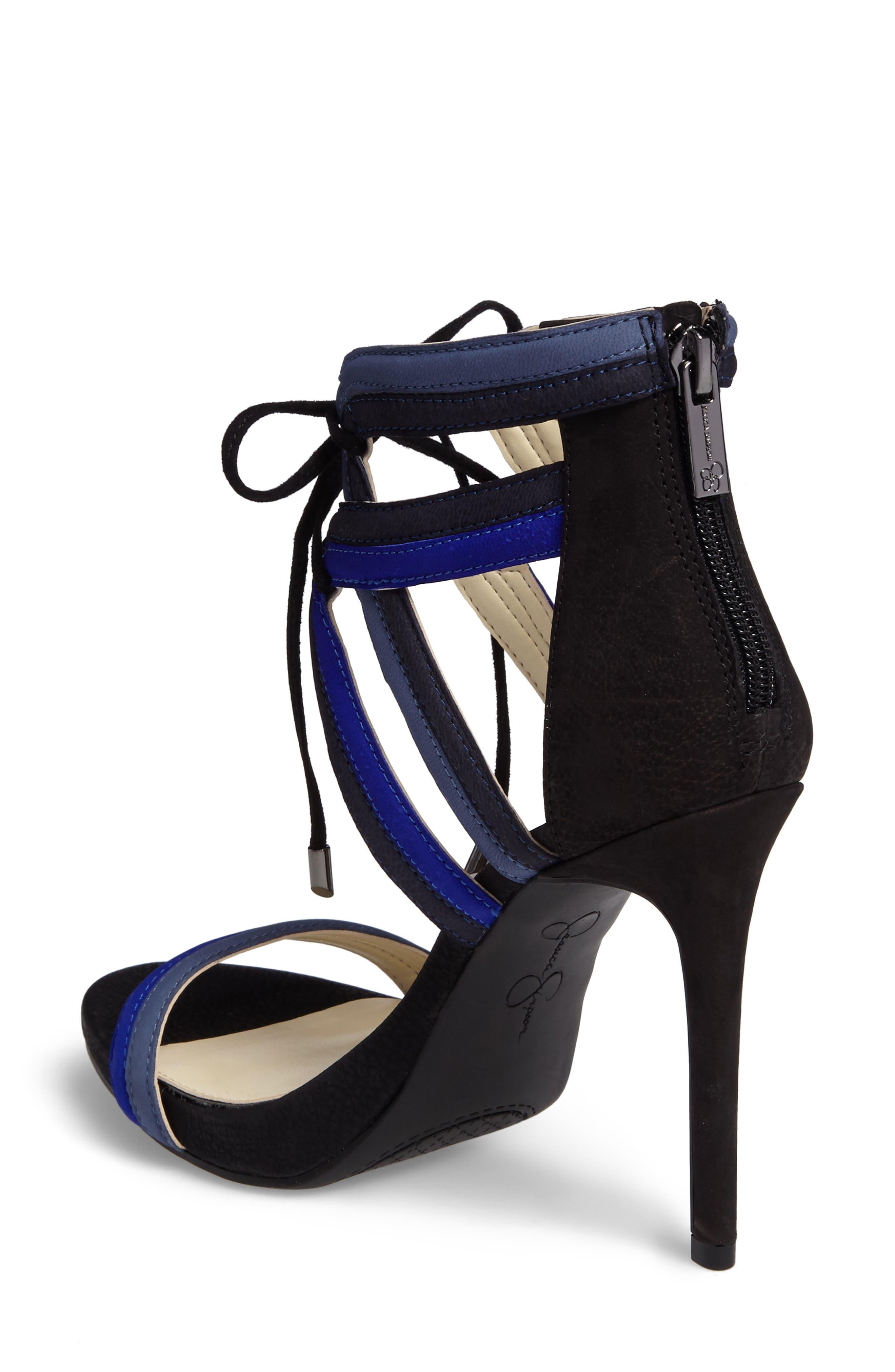 Rensa Sandal,                             Alternate thumbnail 2, color,                             Blue Violet