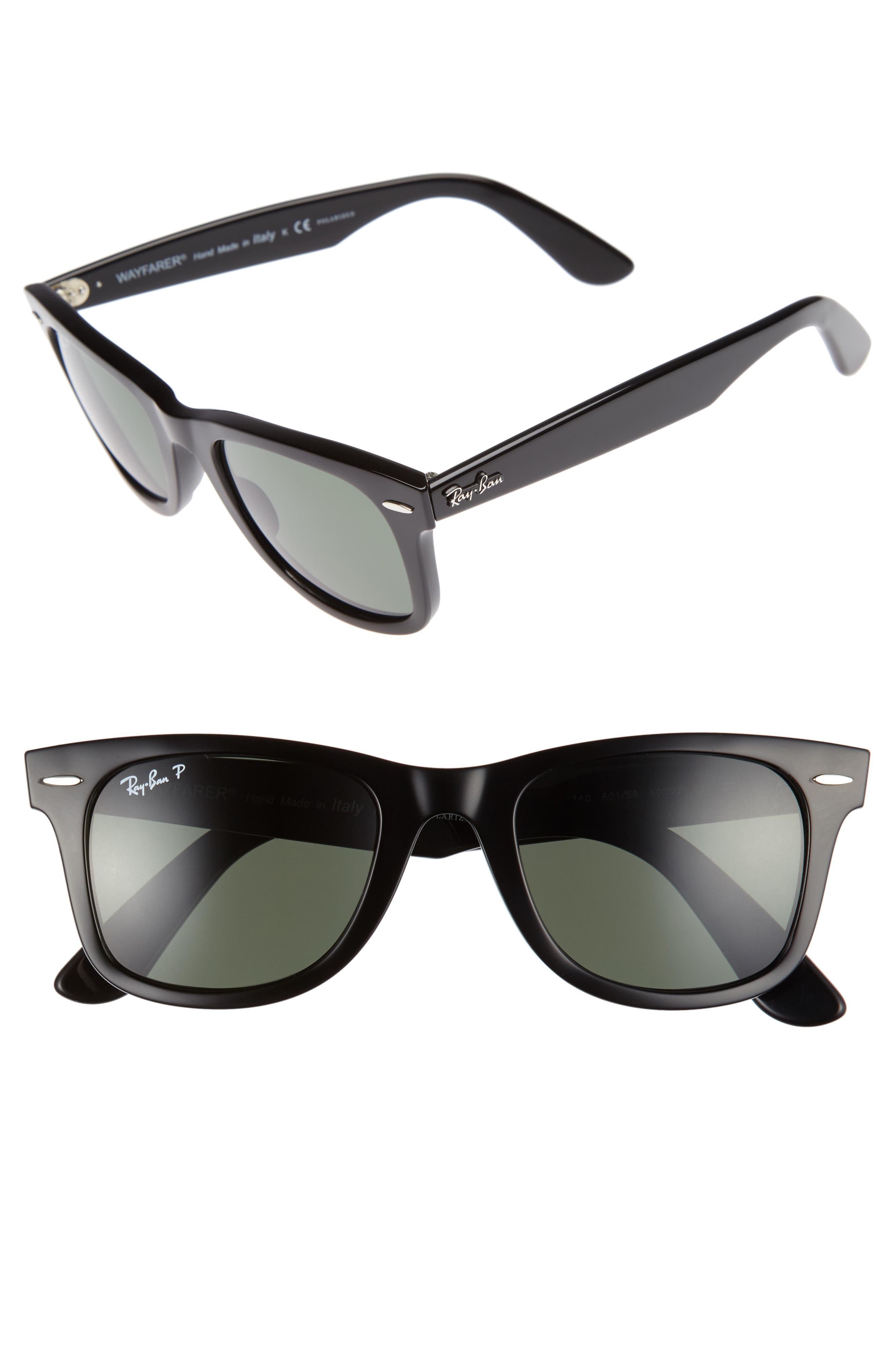 RAY-BAN 50mm Wayfarer Ease Polarized Sunglasses