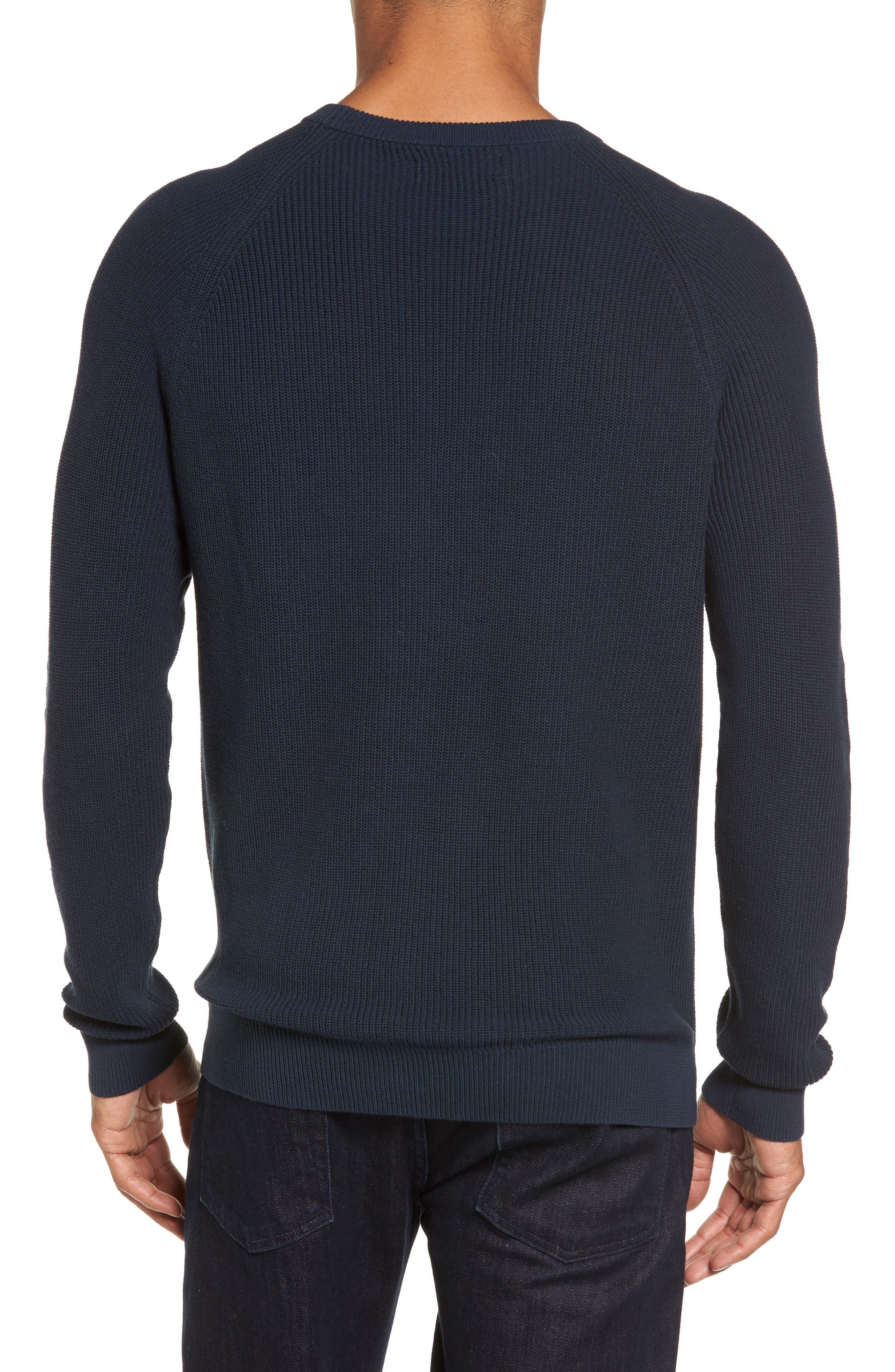 Alternate Image 2  - Nordstrom Men's Shop Crewneck Sweater (Regular)