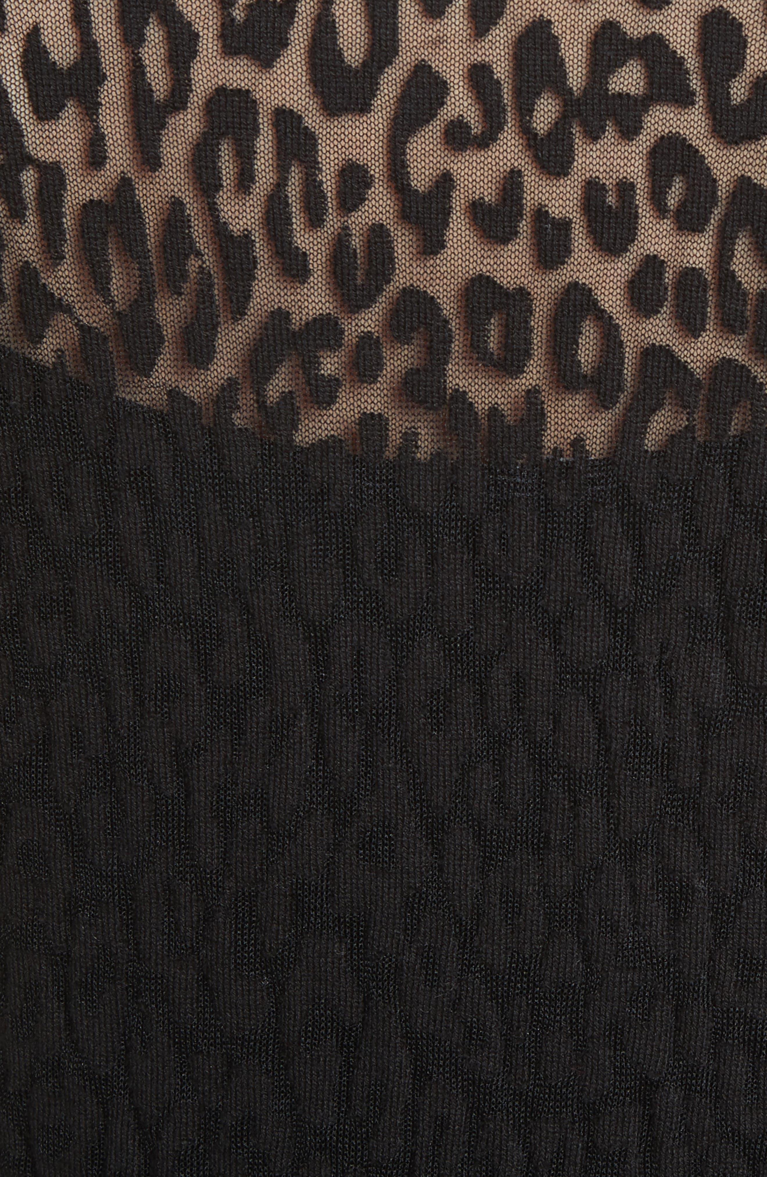 Alternate Image 3  - Michael Kors Burnout Leopard Sweater