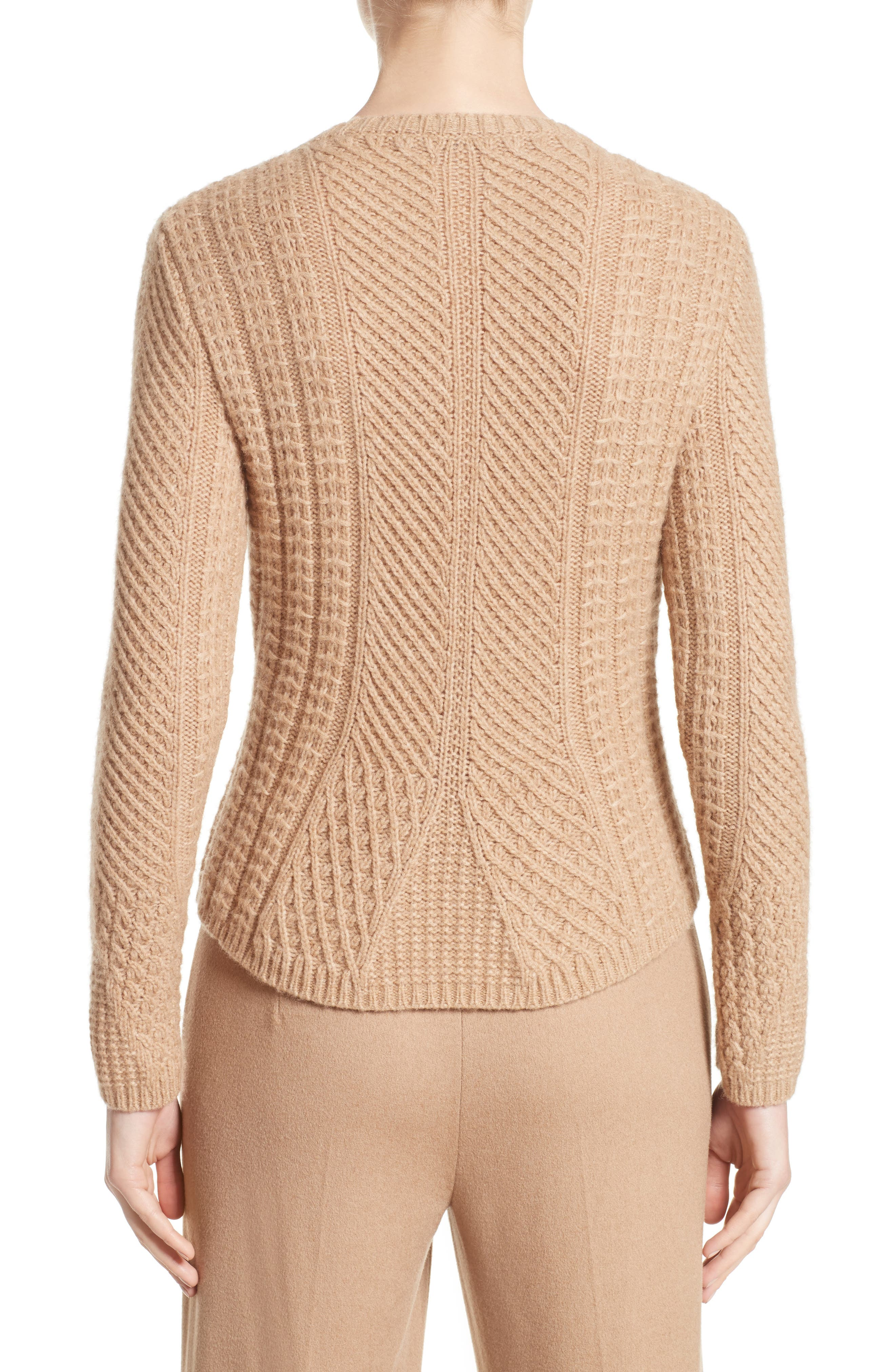 Ronco Sweater,                             Alternate thumbnail 2, color,                             Camel