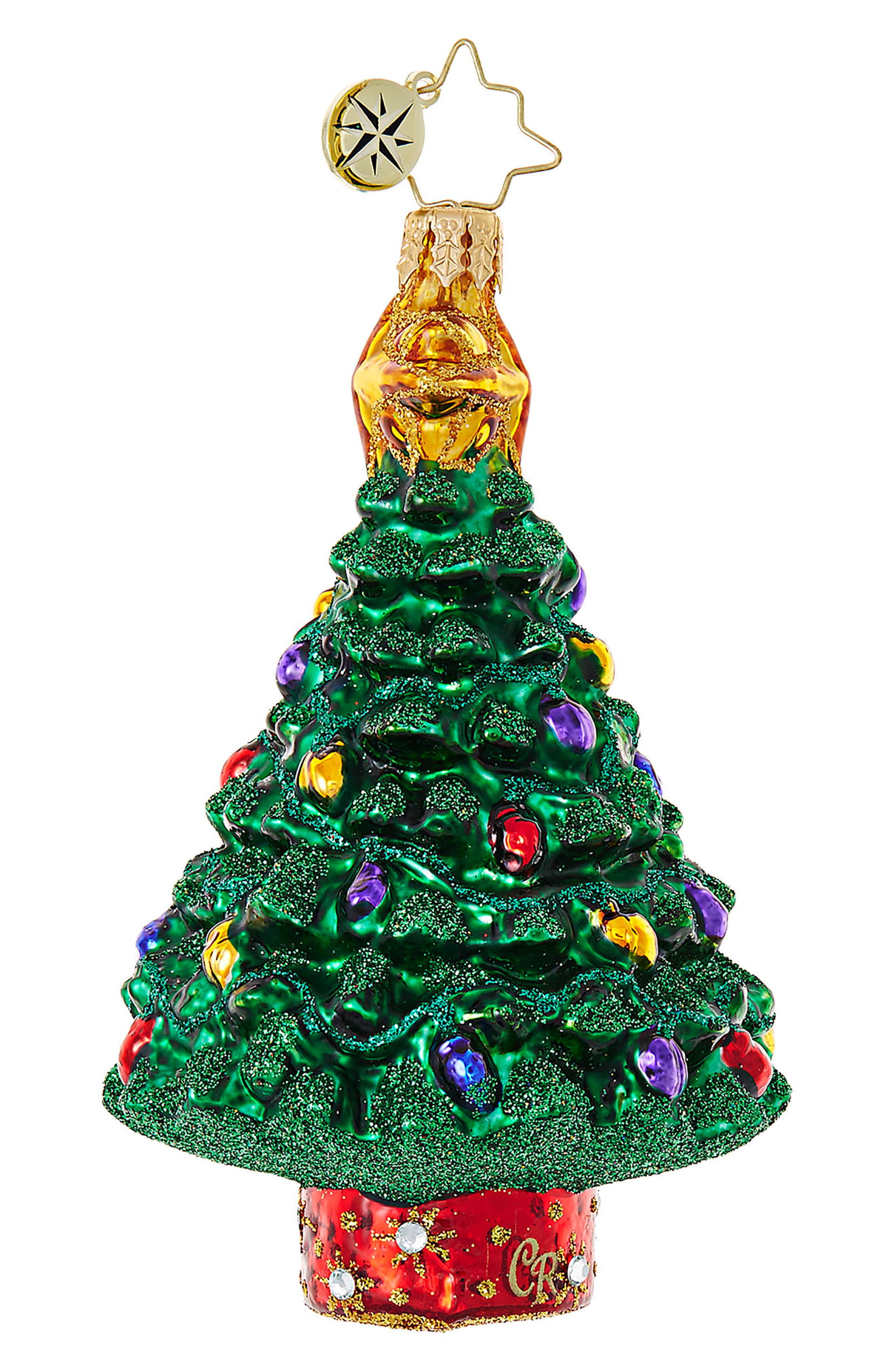 Star of the Show Christmas Tree Ornament,                         Main,                         color, Green/ Multi