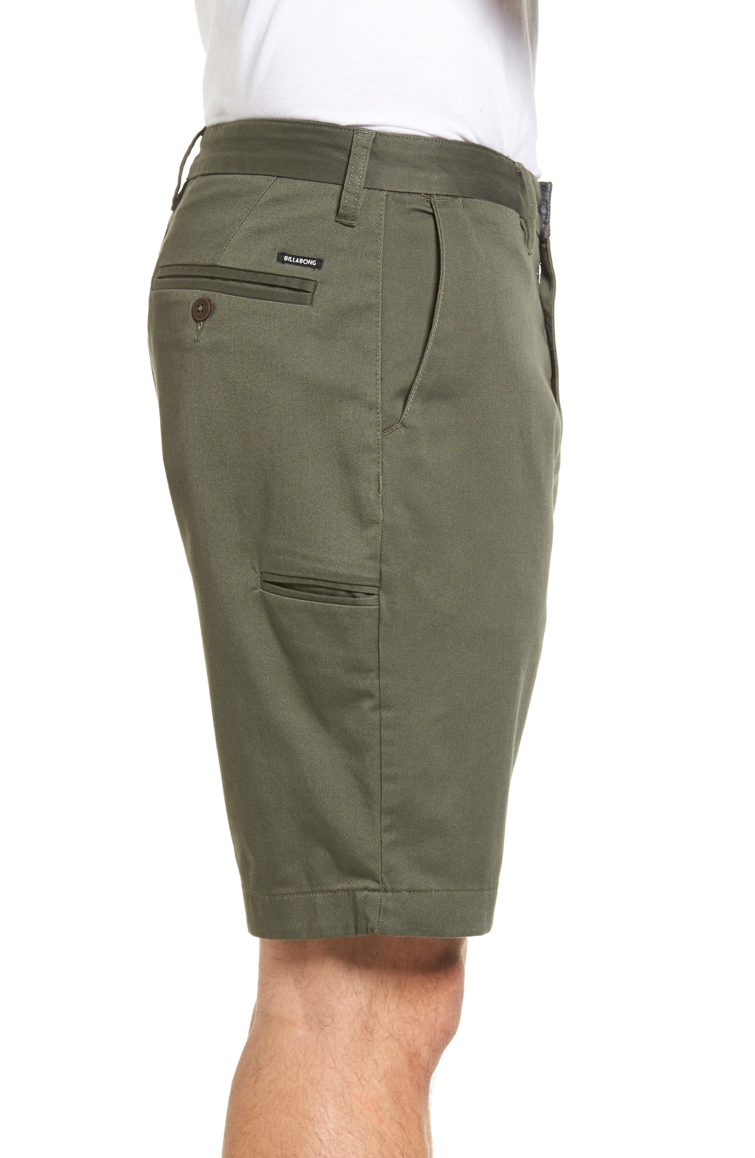 Alternate Image 3  - Billabong Carter Stretch Twill Shorts