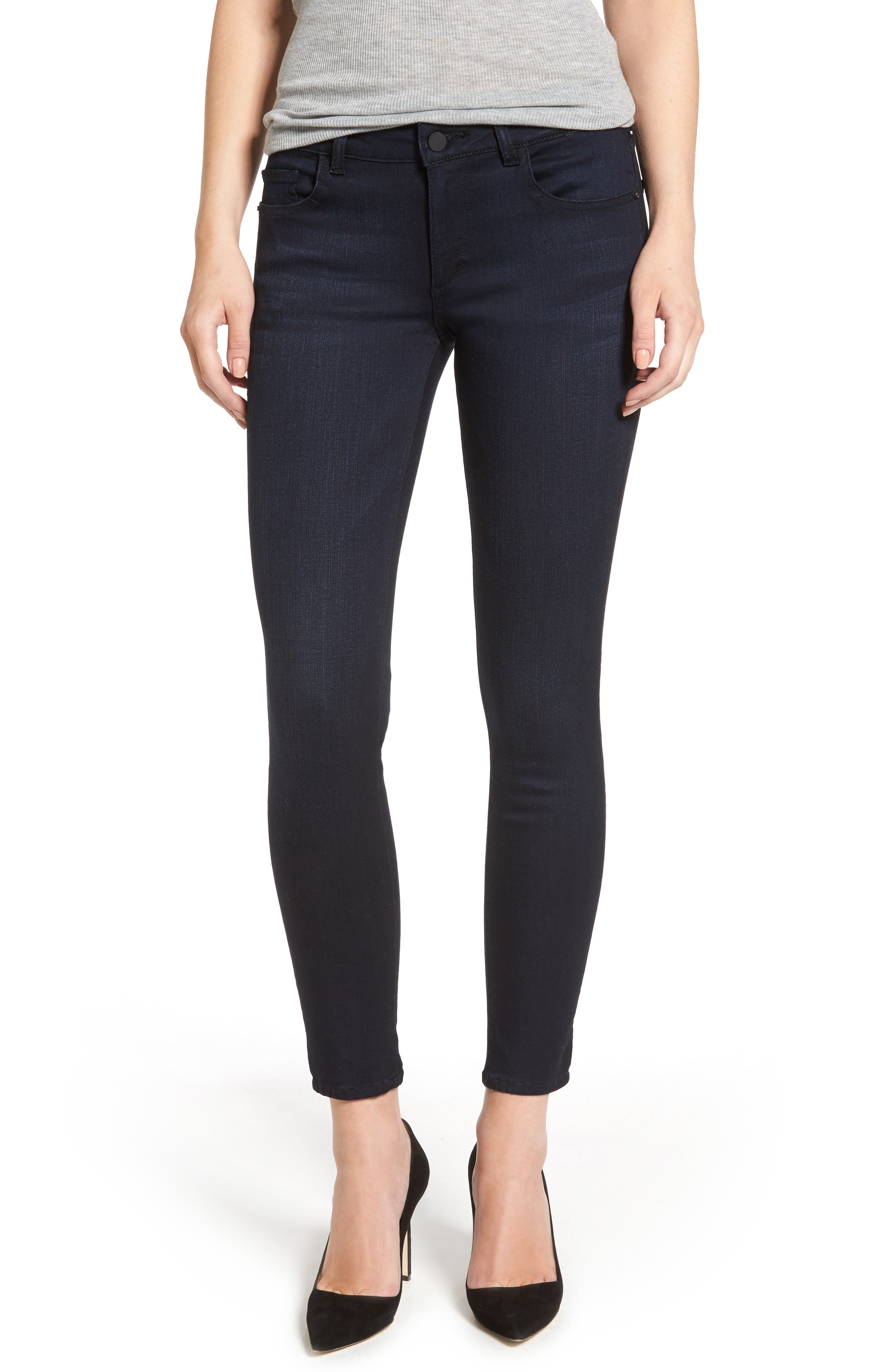 Alternate Image 1 Selected - DL1961 Margaux Ankle Skinny Jeans (Bentley)