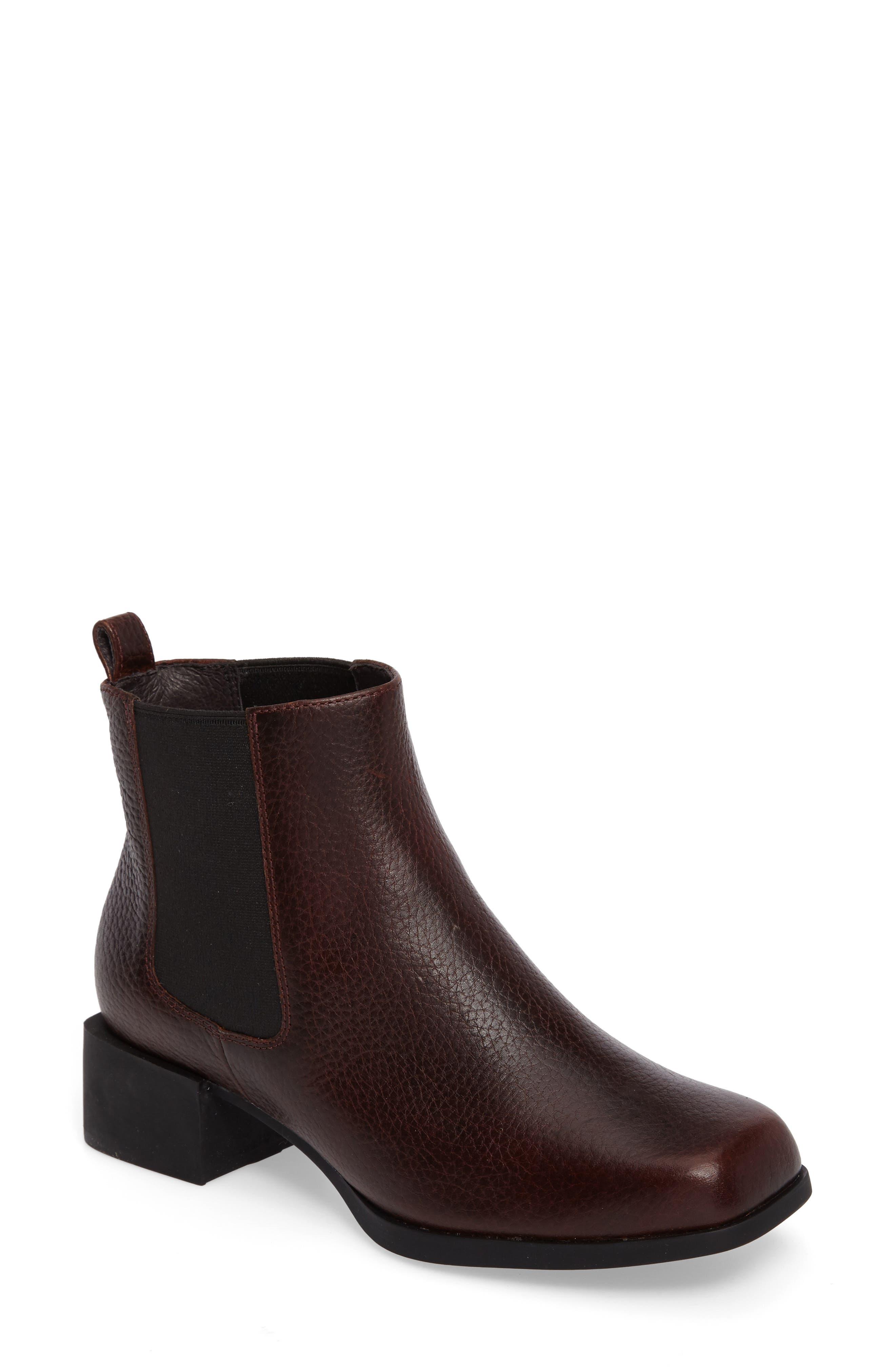 Kobo Chelsea Boot,                             Main thumbnail 1, color,                             Medium Brown Leather