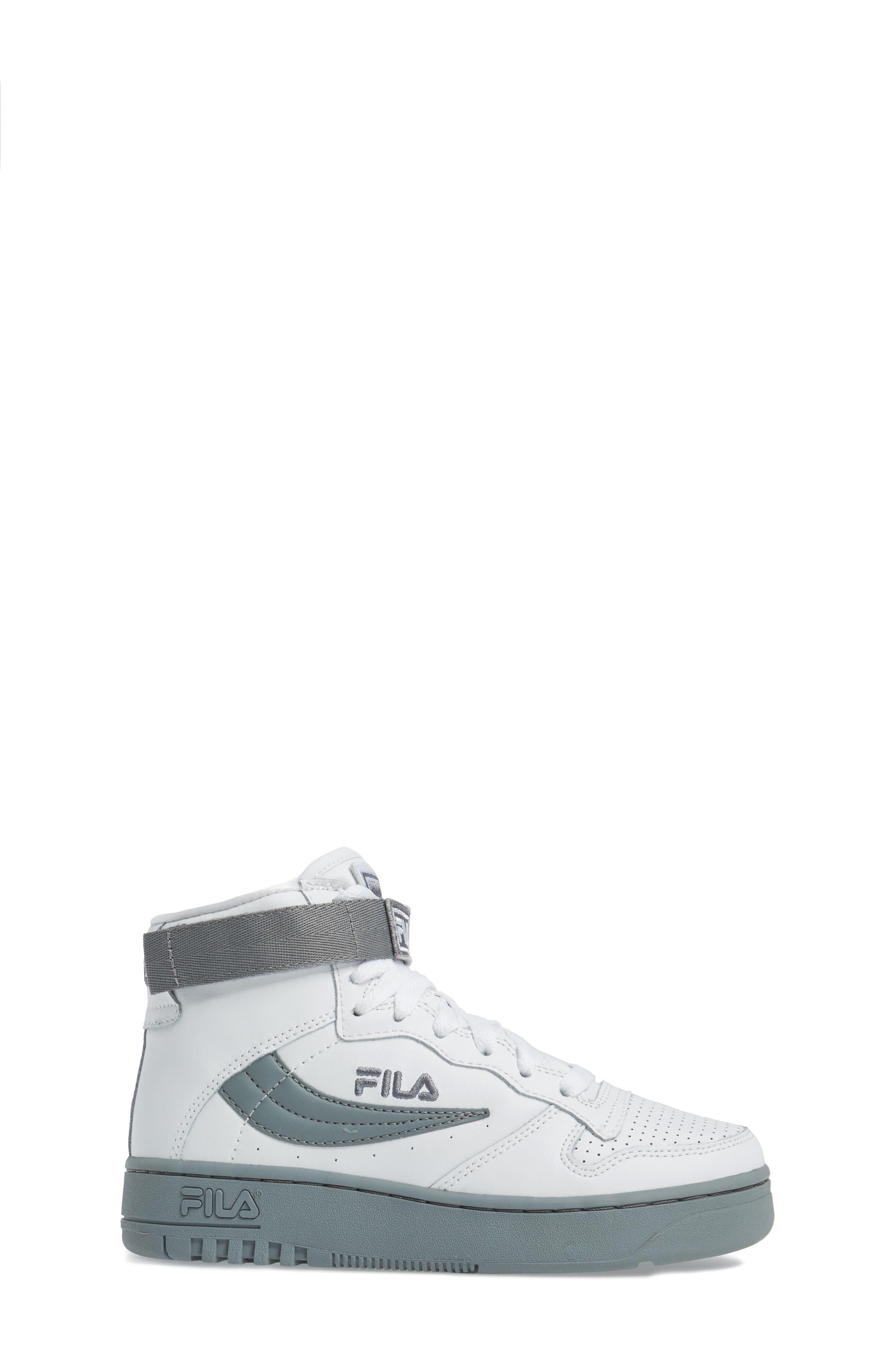 Alternate Image 3  - FILA FX-100 High Top Sneaker (Big Kid)