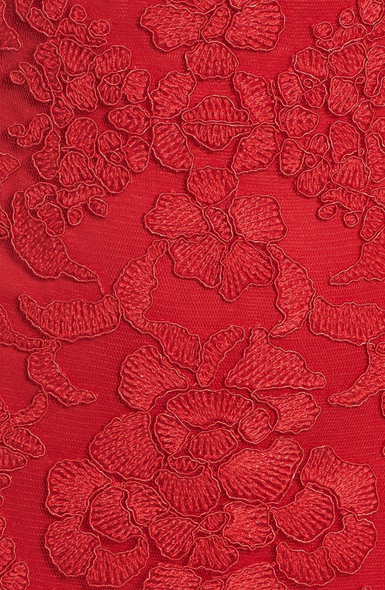 Alternate Image 5  - Tadashi Shoji Embroidered Sheath Dress