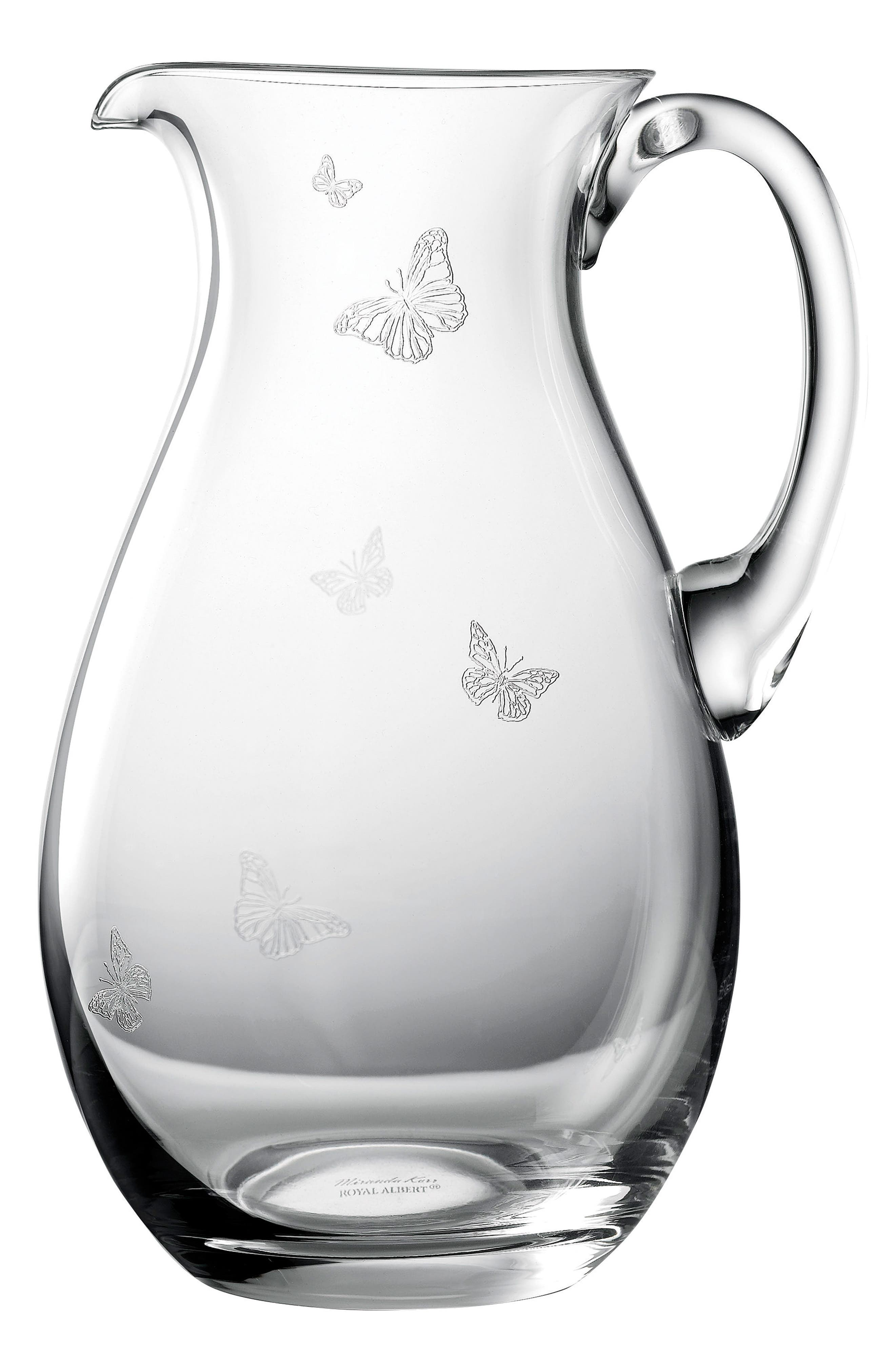 Friendship Glass Pitcher,                             Main thumbnail 1, color,                             Clear
