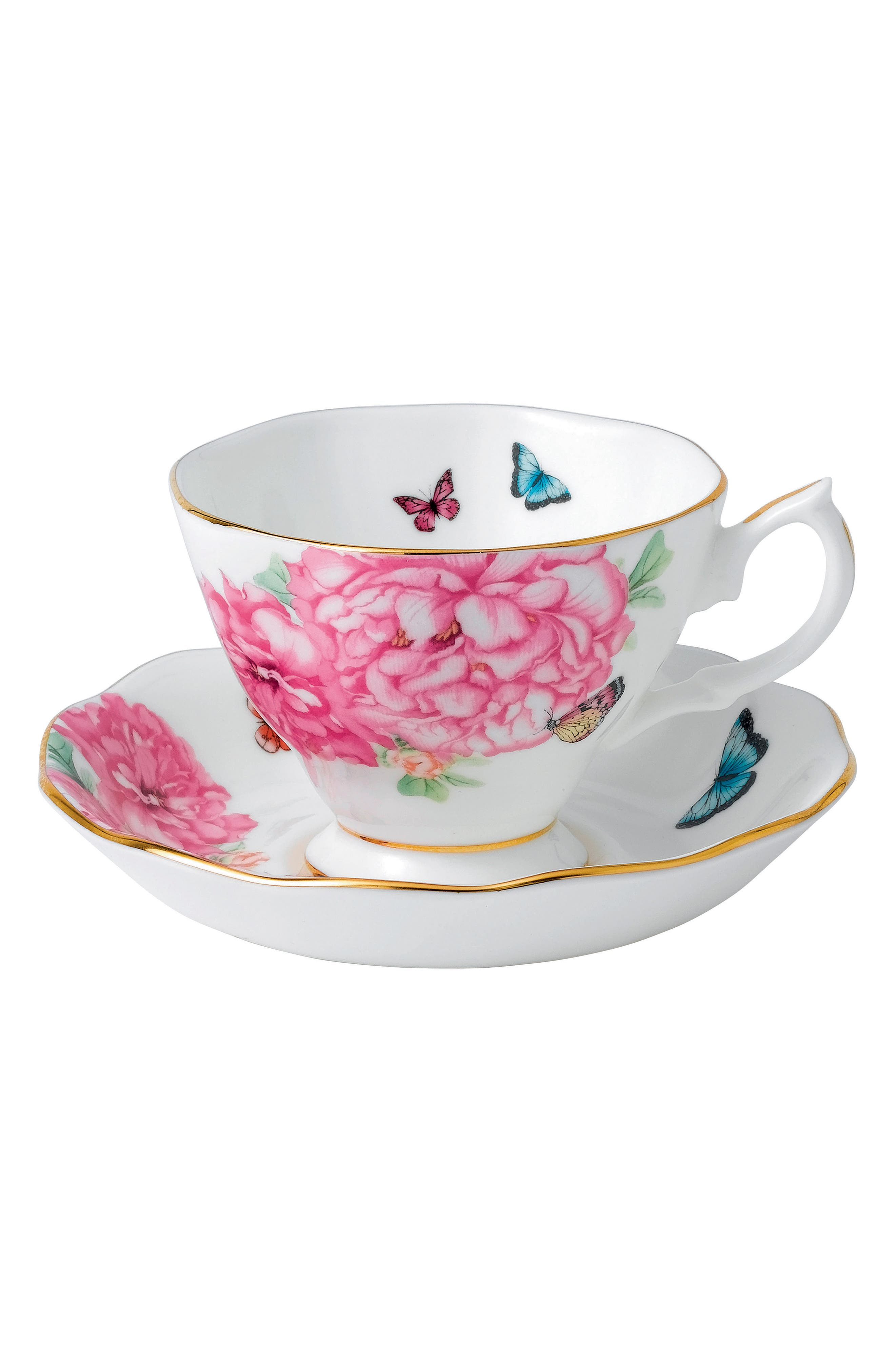 Alternate Image 1 Selected - Miranda Kerr for Royal Albert Friendship Teacup & Saucer