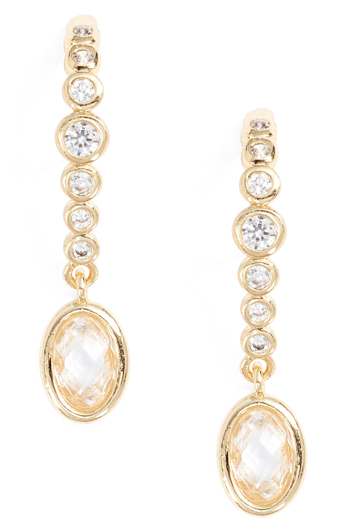 Main Image - Melinda Maria Extended Drop Earrings