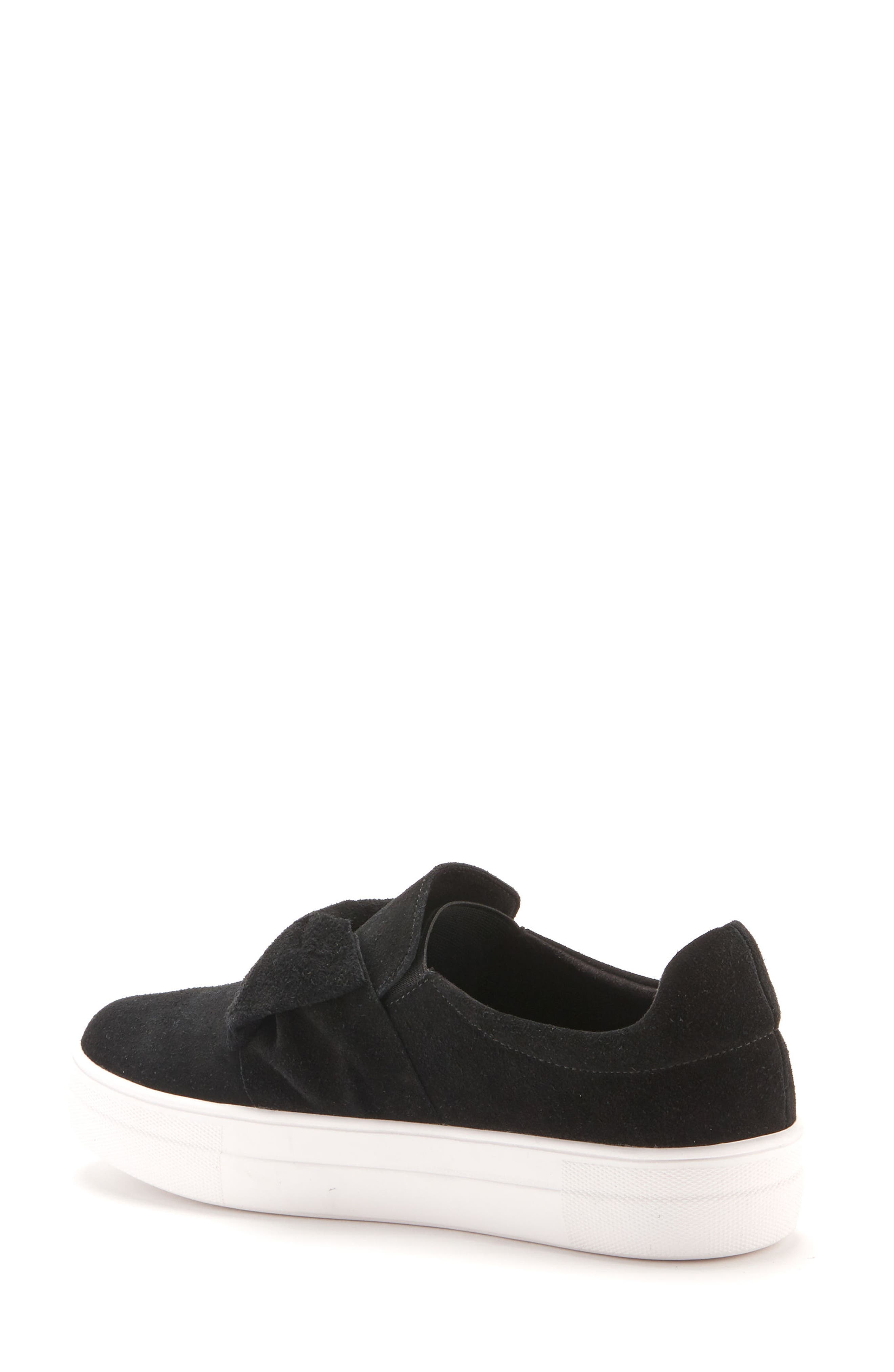 Gigi Sneaker,                             Alternate thumbnail 2, color,                             Black Suede