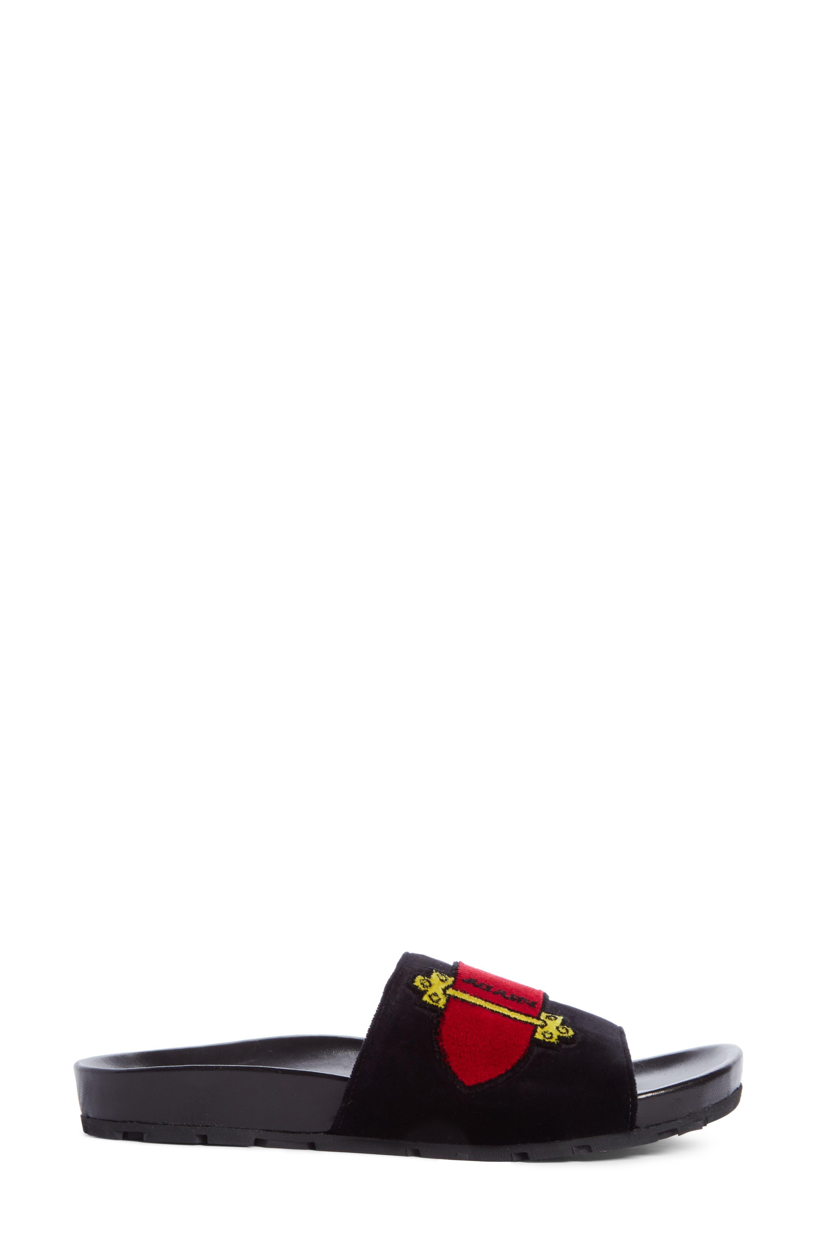Alternate Image 3  - Prada Logo Slide Sandal (Women)