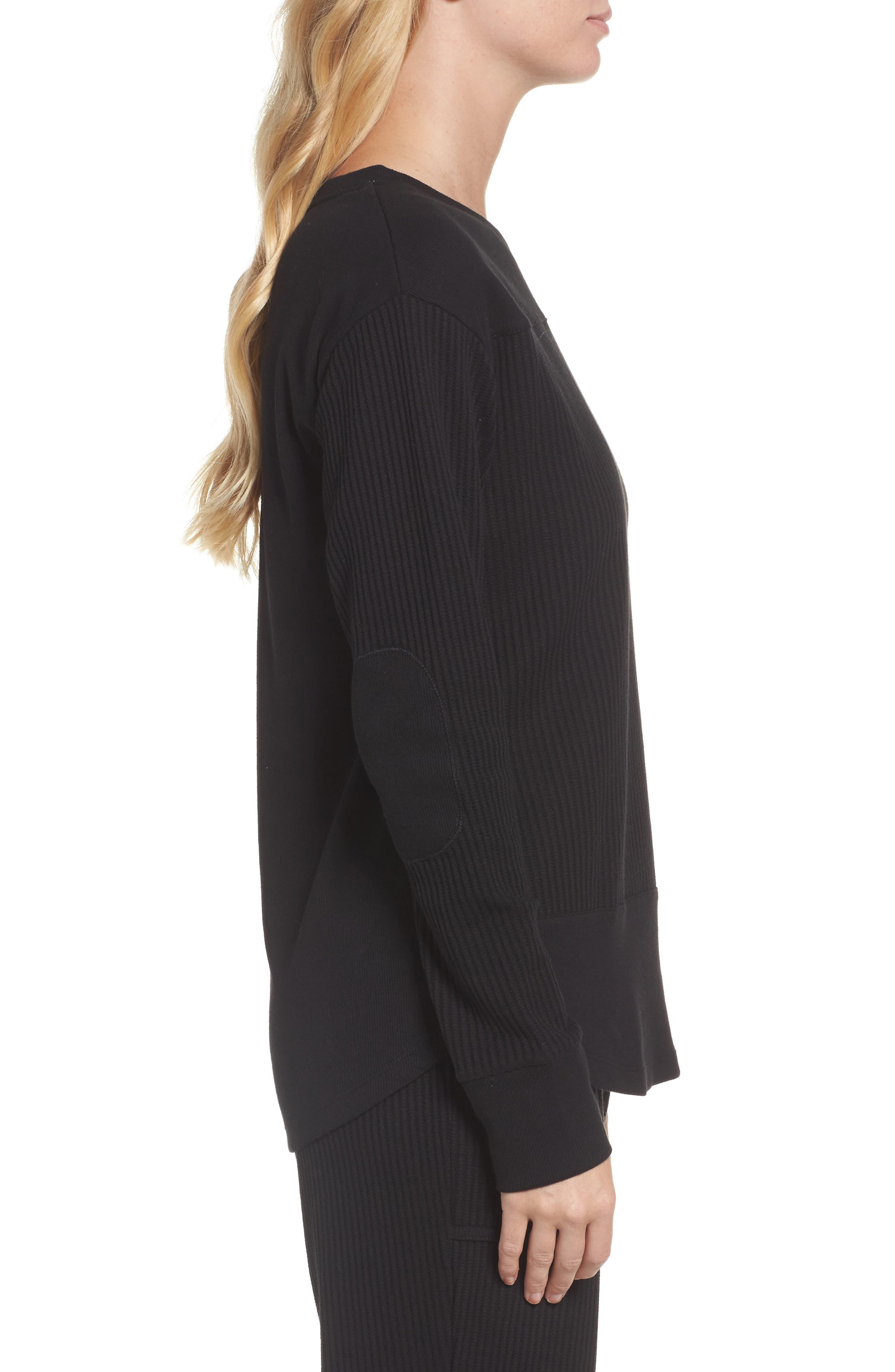Alternate Image 3  - DKNY Long Sleeve Sleep Shirt