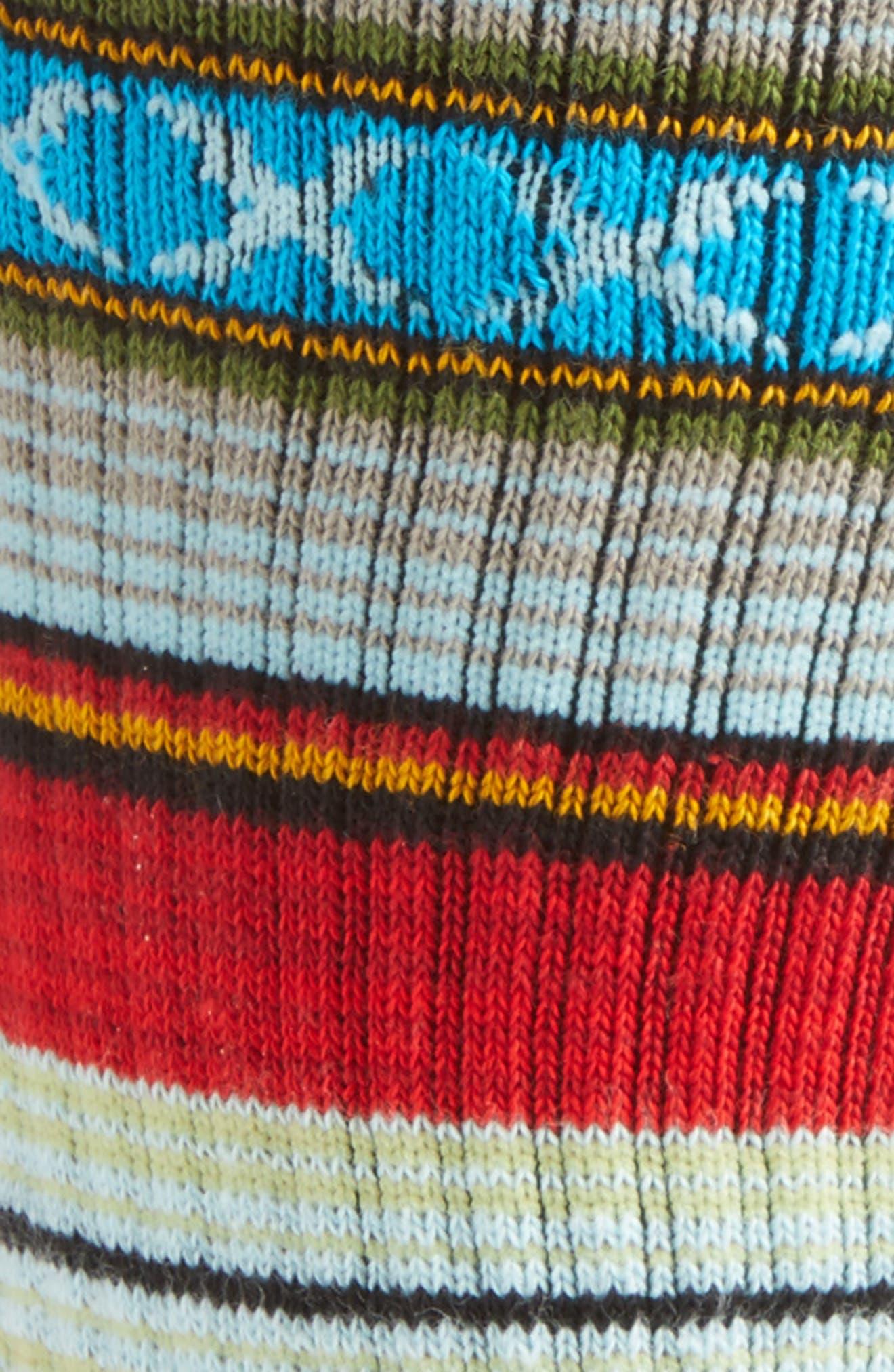 Alternate Image 2  - Stance Guadalupe Stripe Socks
