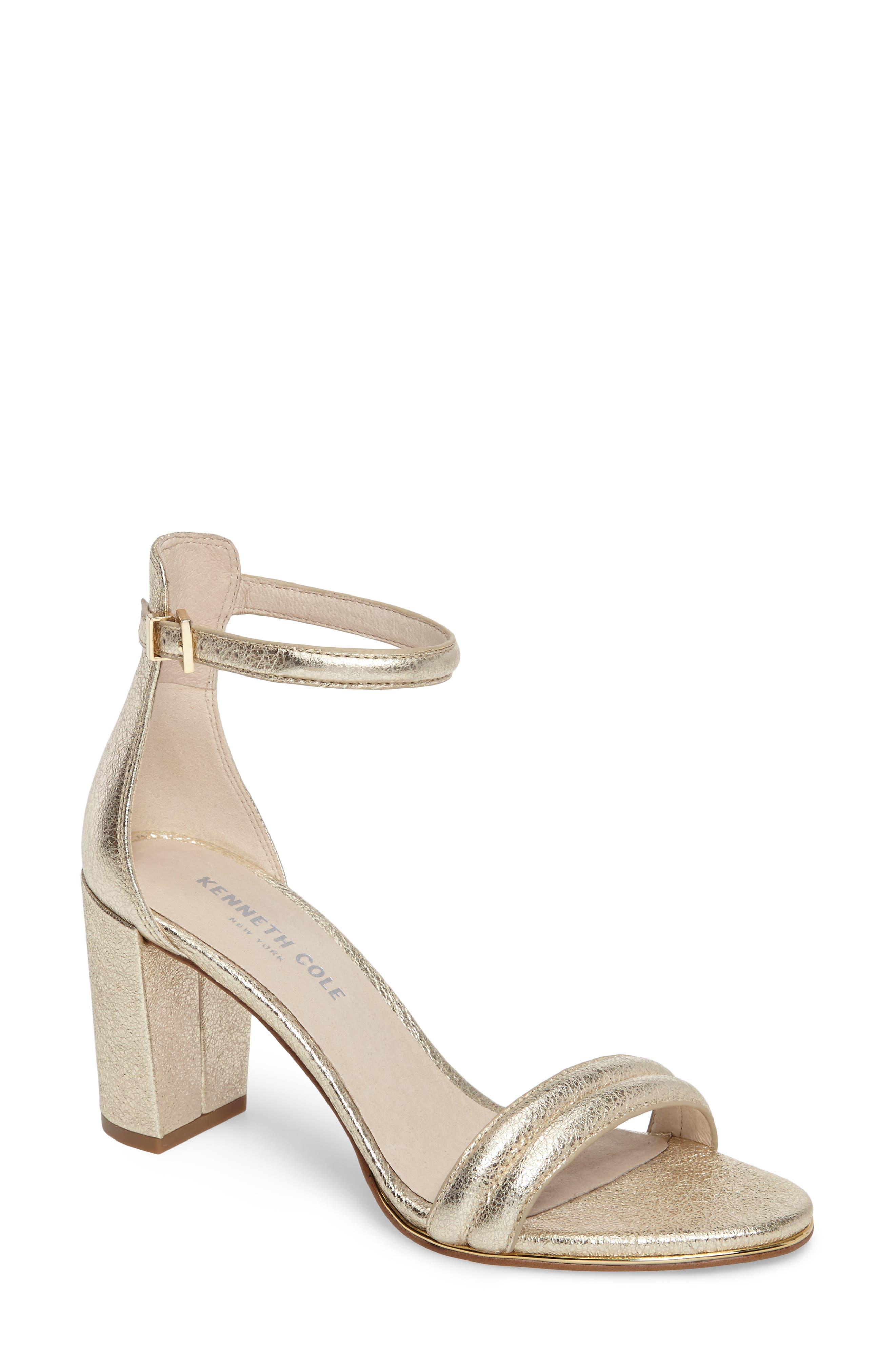 Alternate Image 1 Selected - Kenneth Cole New York 'Lex' Ankle Strap Sandal (Women)