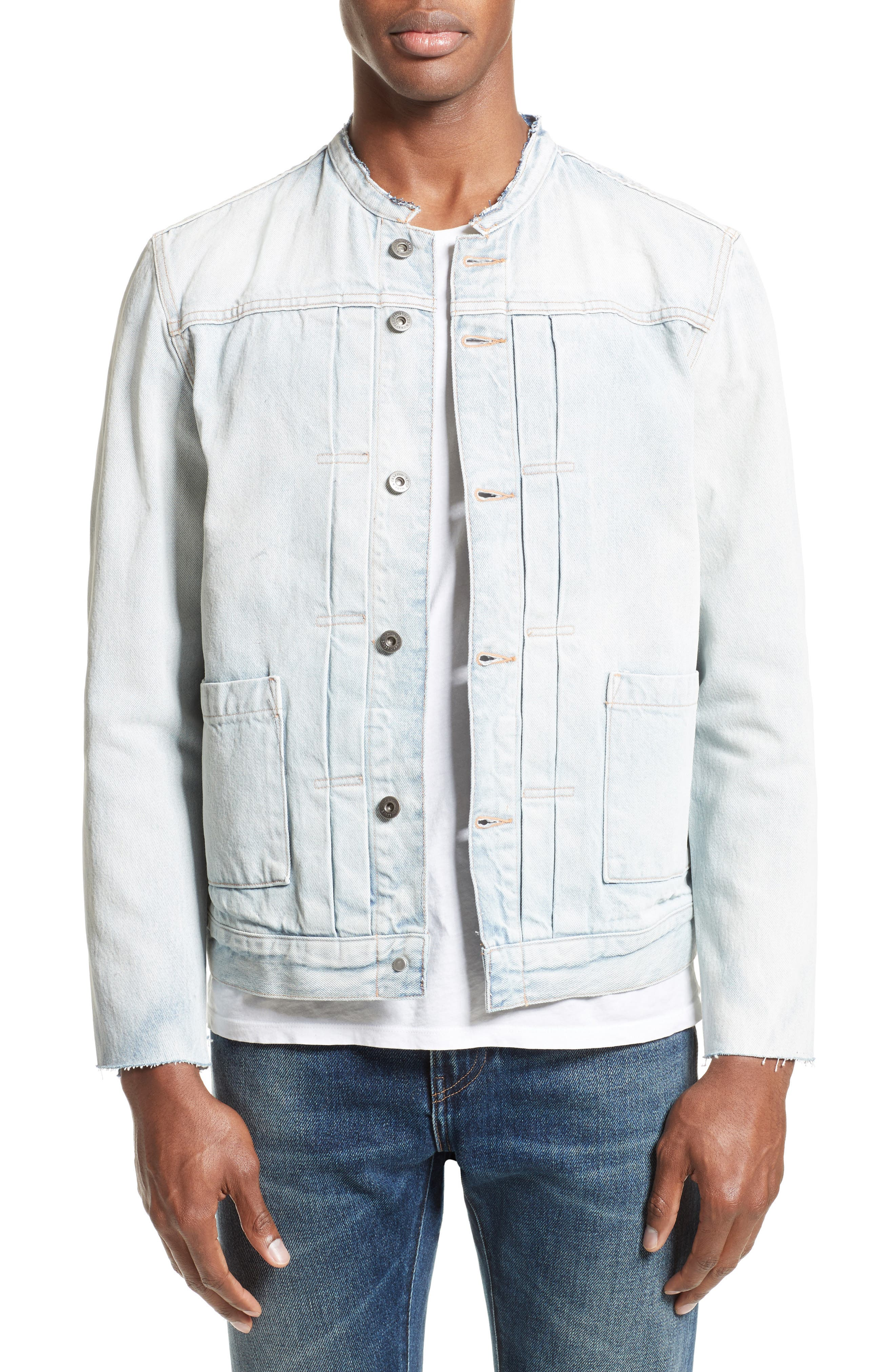 Levi's® Made & Crafted™ Type II Trucker Raw Edge Denim Jacket
