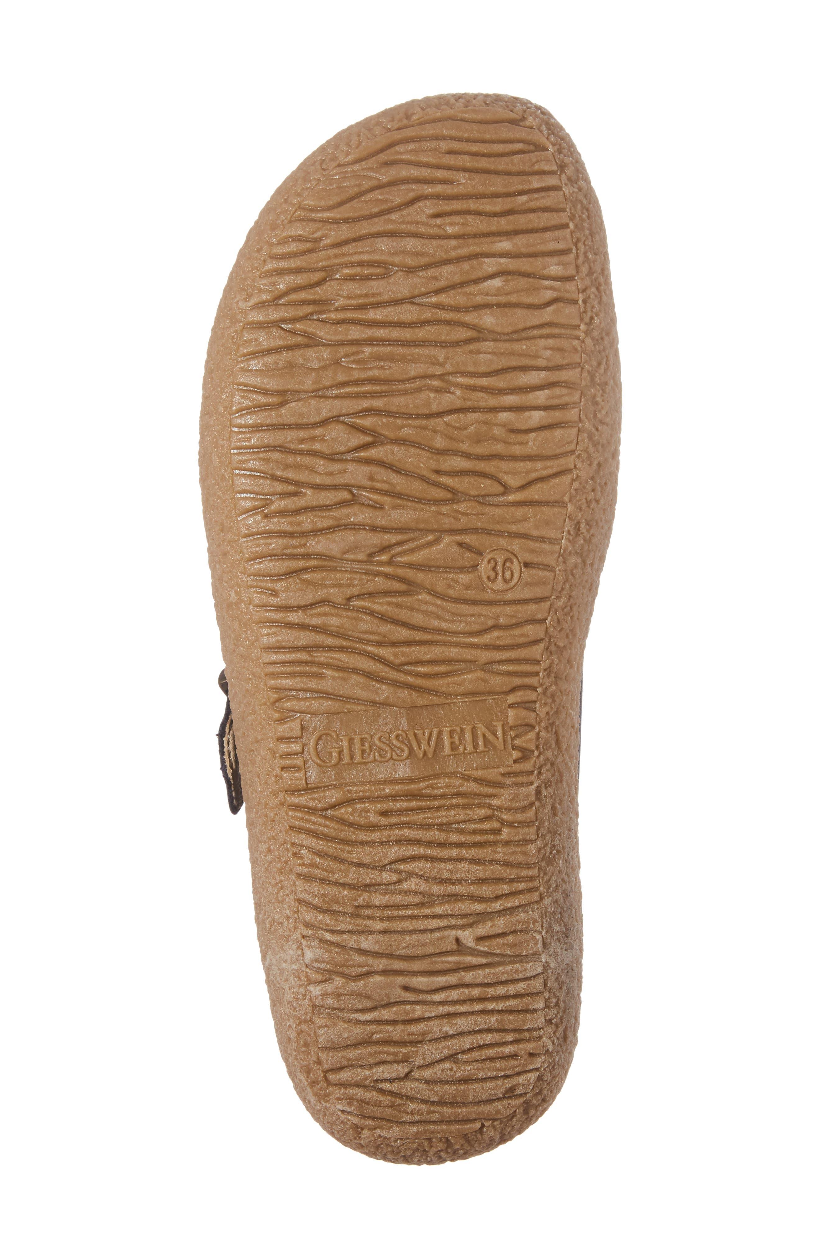 Radler Slipper Mule,                             Alternate thumbnail 6, color,                             Jeans Leather