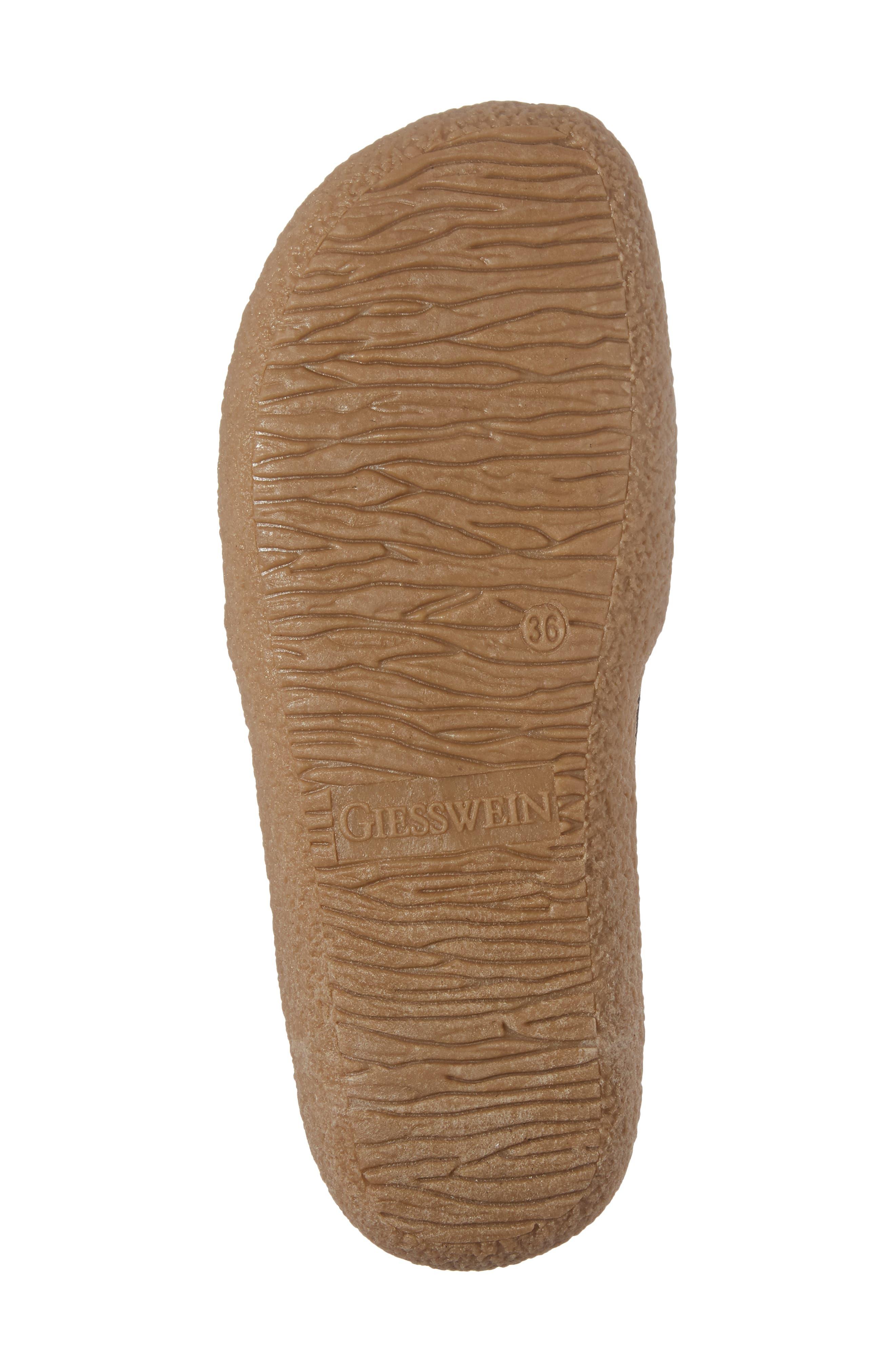 Alpen Loafer,                             Alternate thumbnail 6, color,                             Black Wool