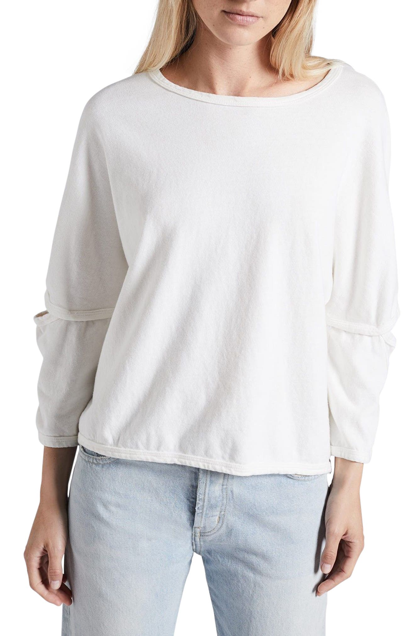 Current/Elliott The Easy Cutout Pullover