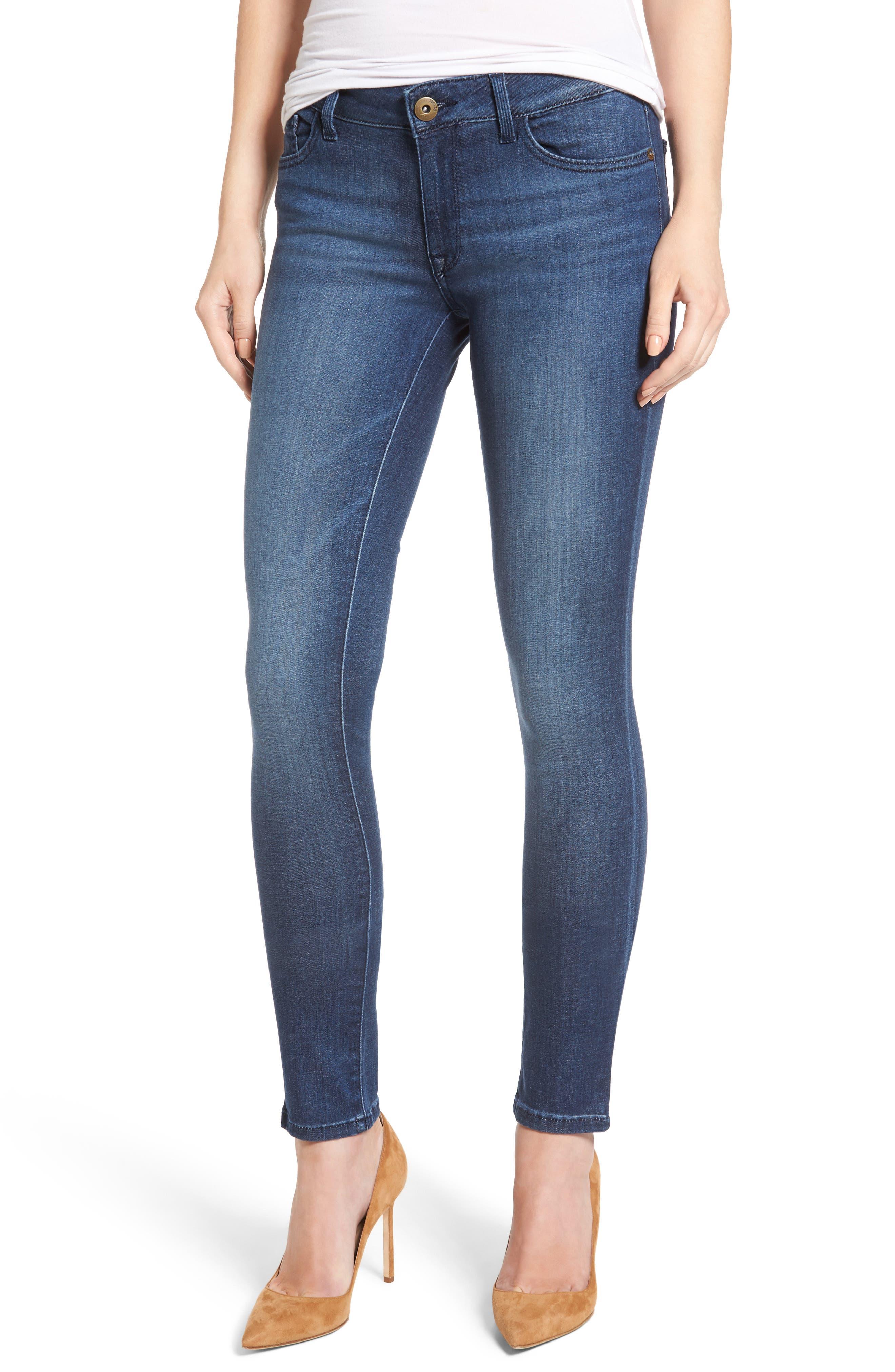 Amanda Skinny Jeans,                         Main,                         color, Trance