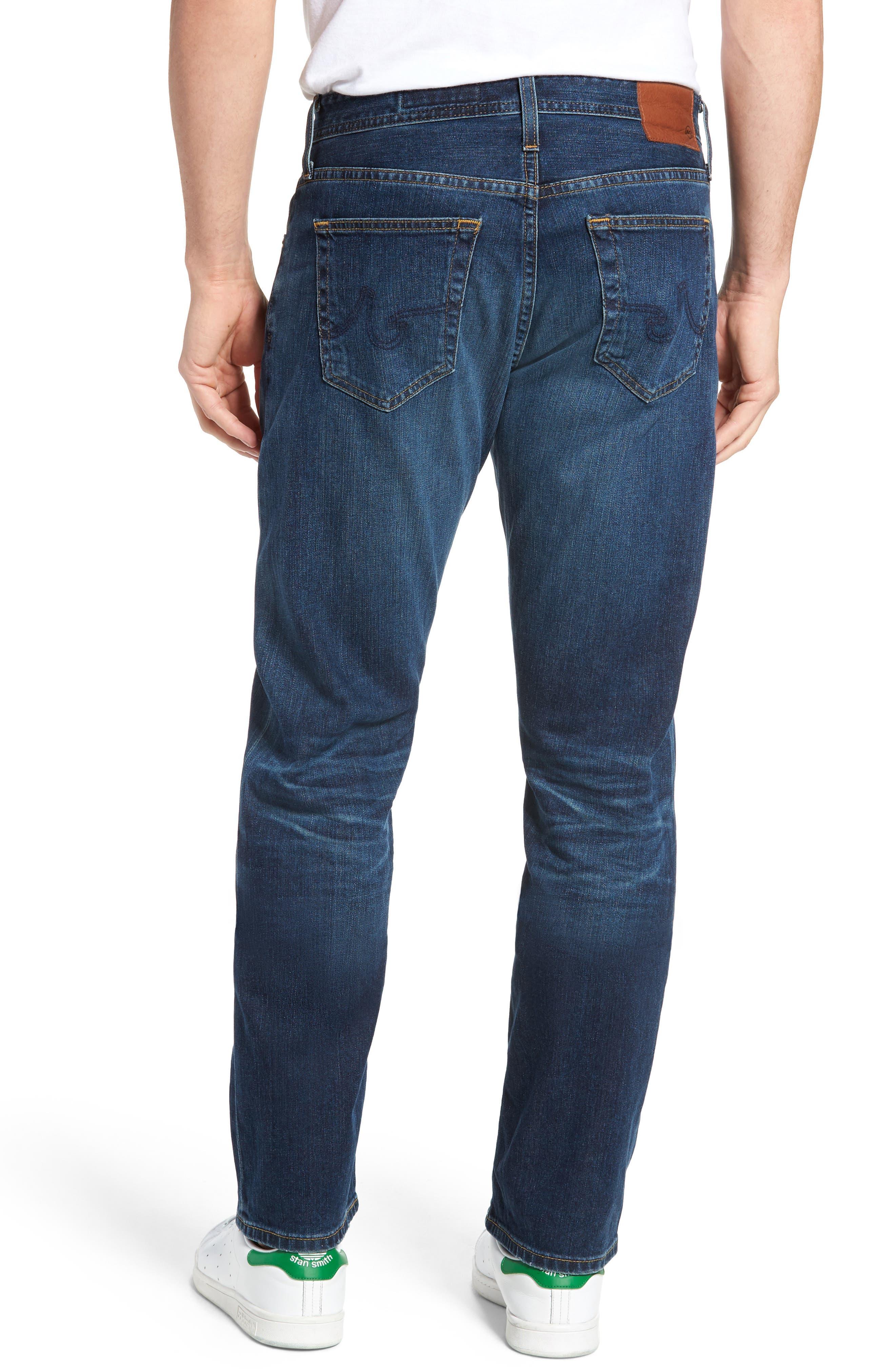 Alternate Image 2  - AG Ives Straight Leg Jeans (9 Years Hammer)
